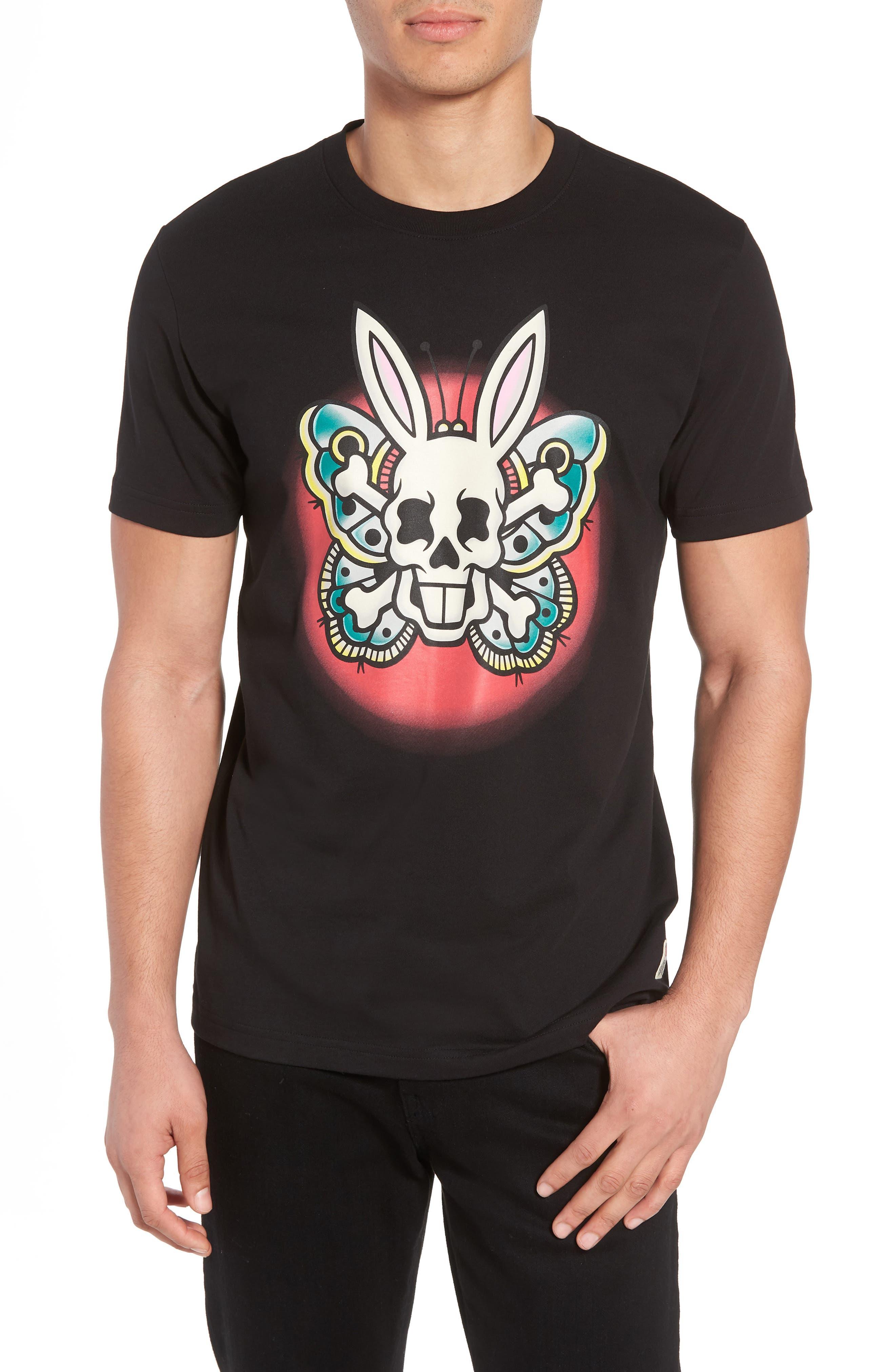 Graphic T-Shirt,                         Main,                         color, Black