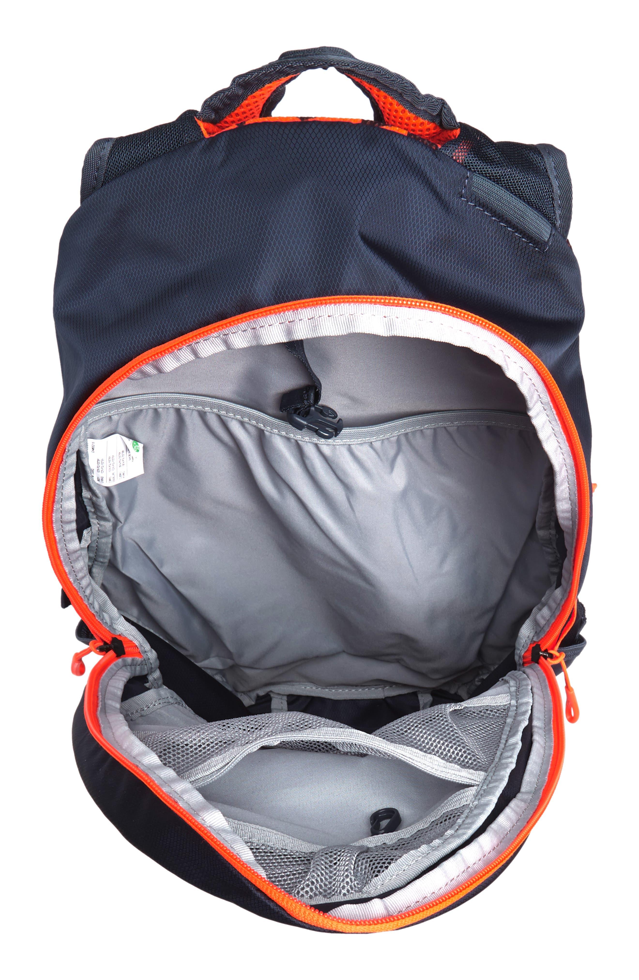 Run Commuter Backpack,                             Alternate thumbnail 4, color,                             Thunder Blue/ Total Crimson