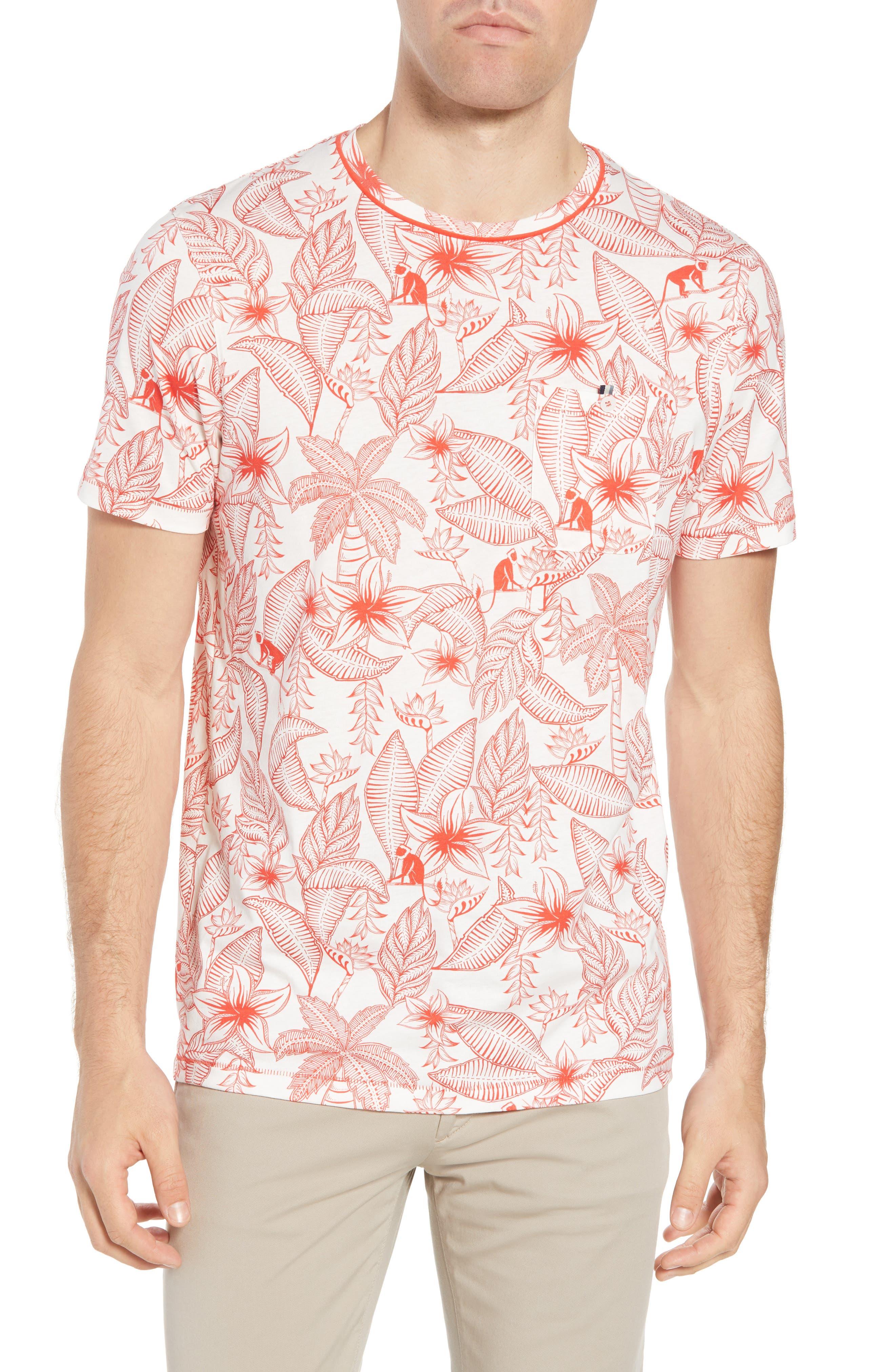 Bengel Crewneck T-Shirt,                         Main,                         color, Red