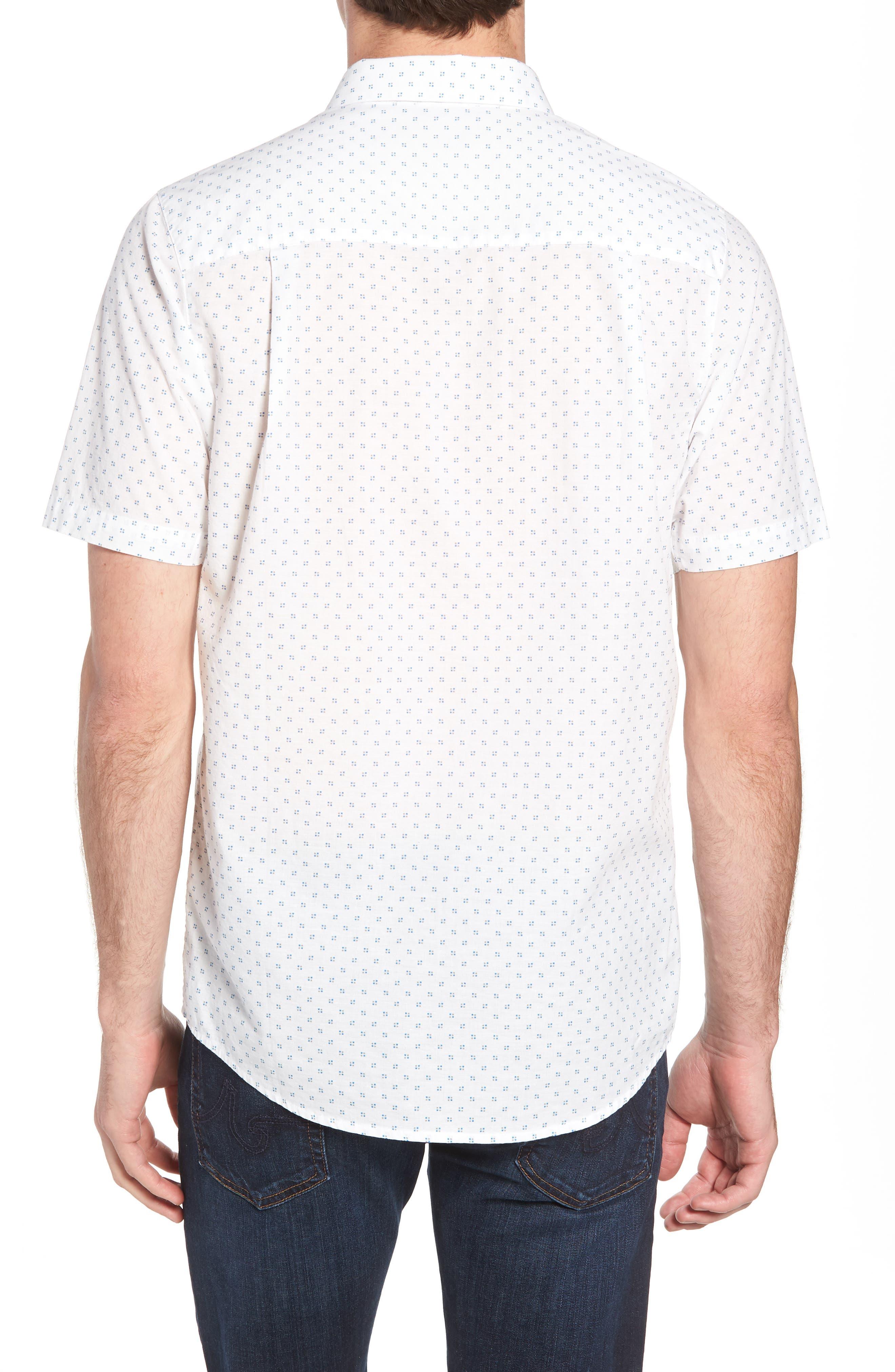Nangs Print Sport Shirt,                             Alternate thumbnail 3, color,                             White