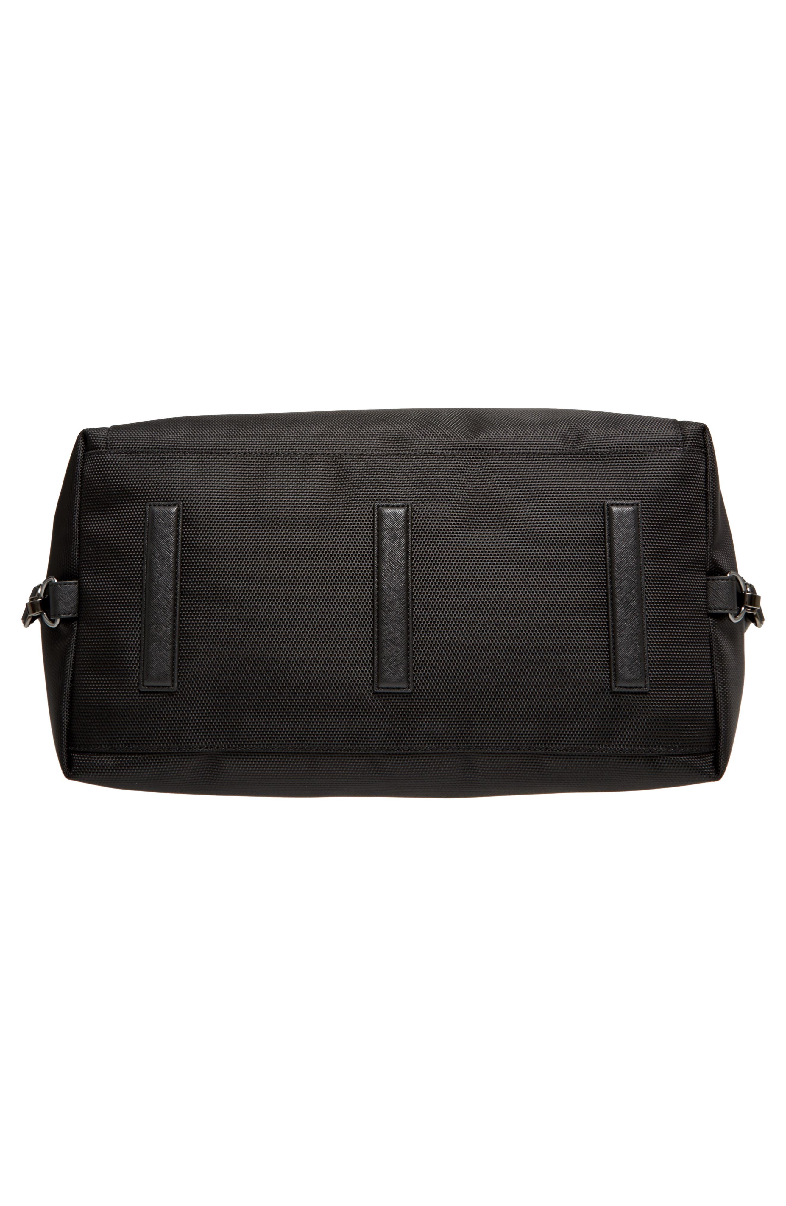 Smart Duffel Bag,                             Alternate thumbnail 6, color,                             Black