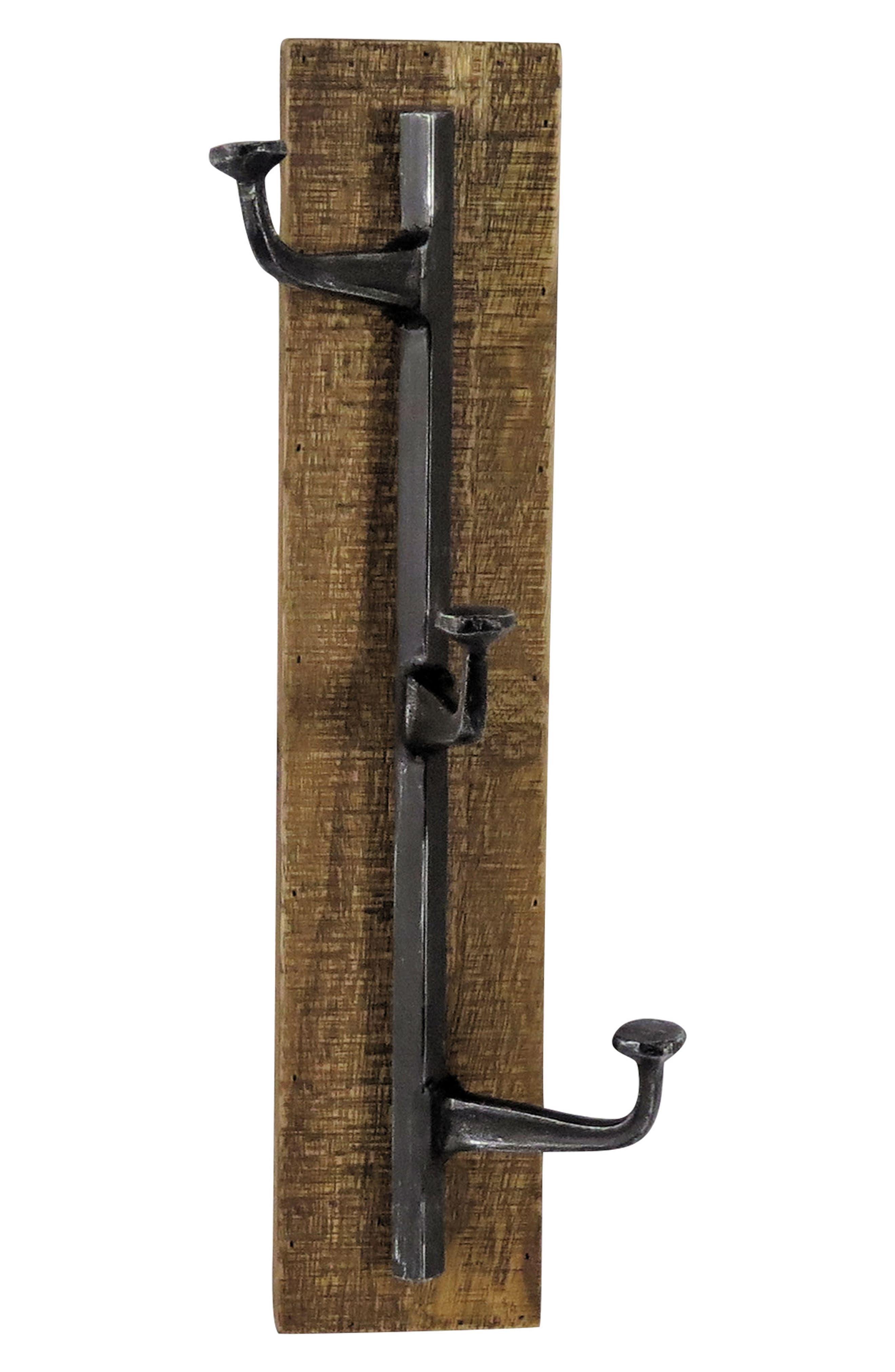 Wall Hooks,                         Main,                         color, Metal/ Wood