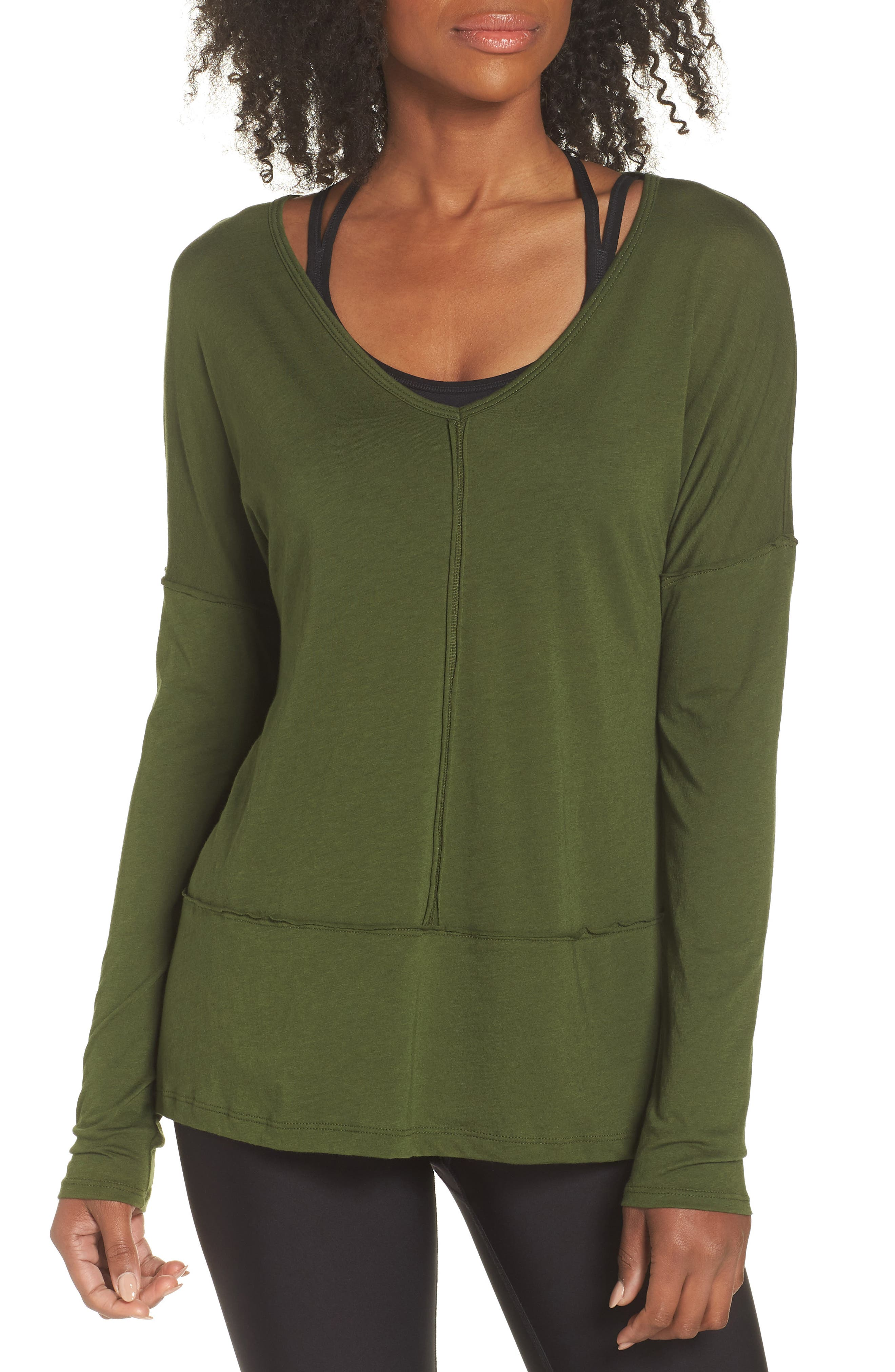 Super Slick Pullover,                         Main,                         color, Jungle Palm