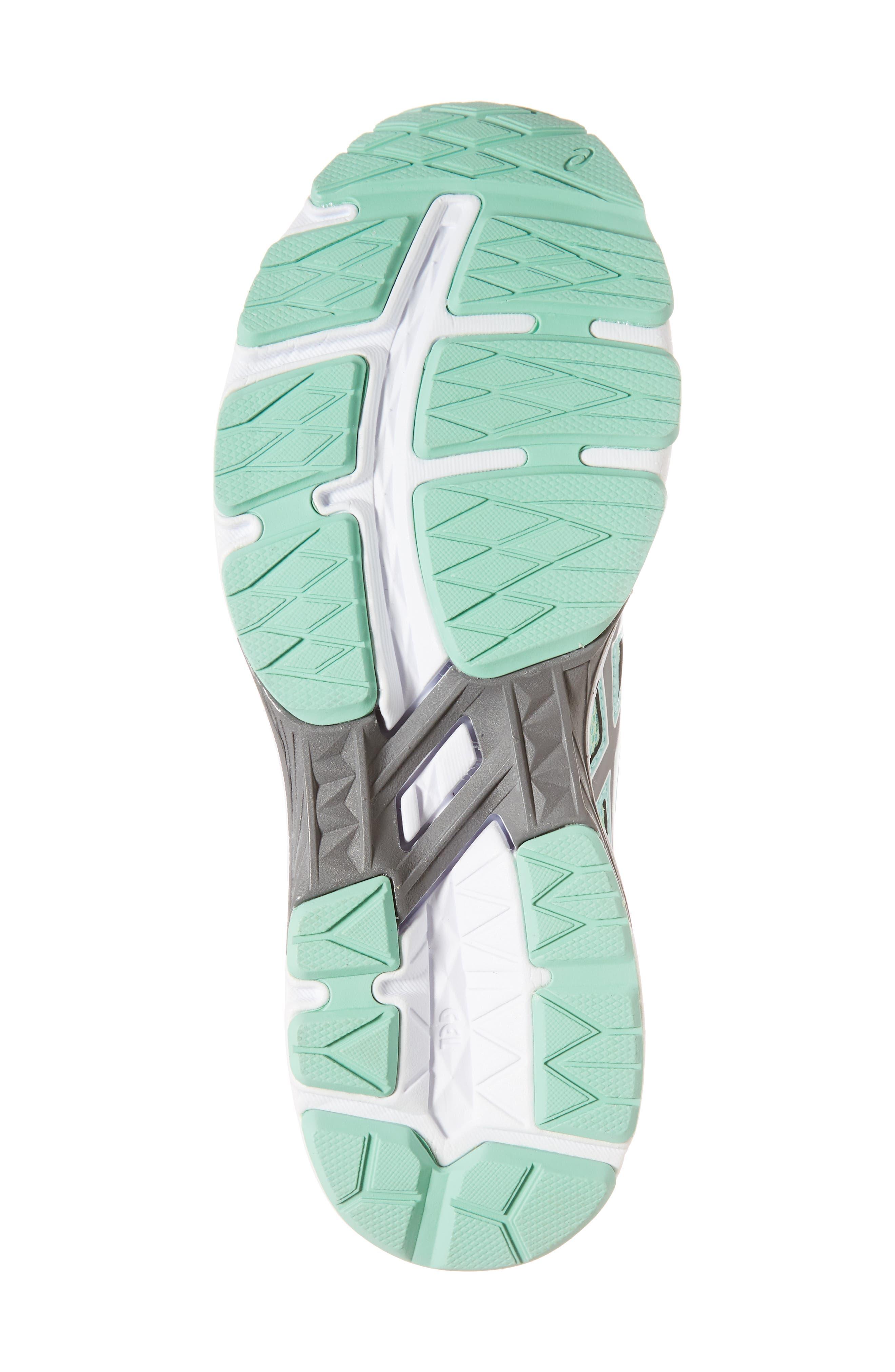 Asics GT-1000<sup>™</sup> 6 GS Sneaker,                             Alternate thumbnail 6, color,                             Carbon/ Opal Green
