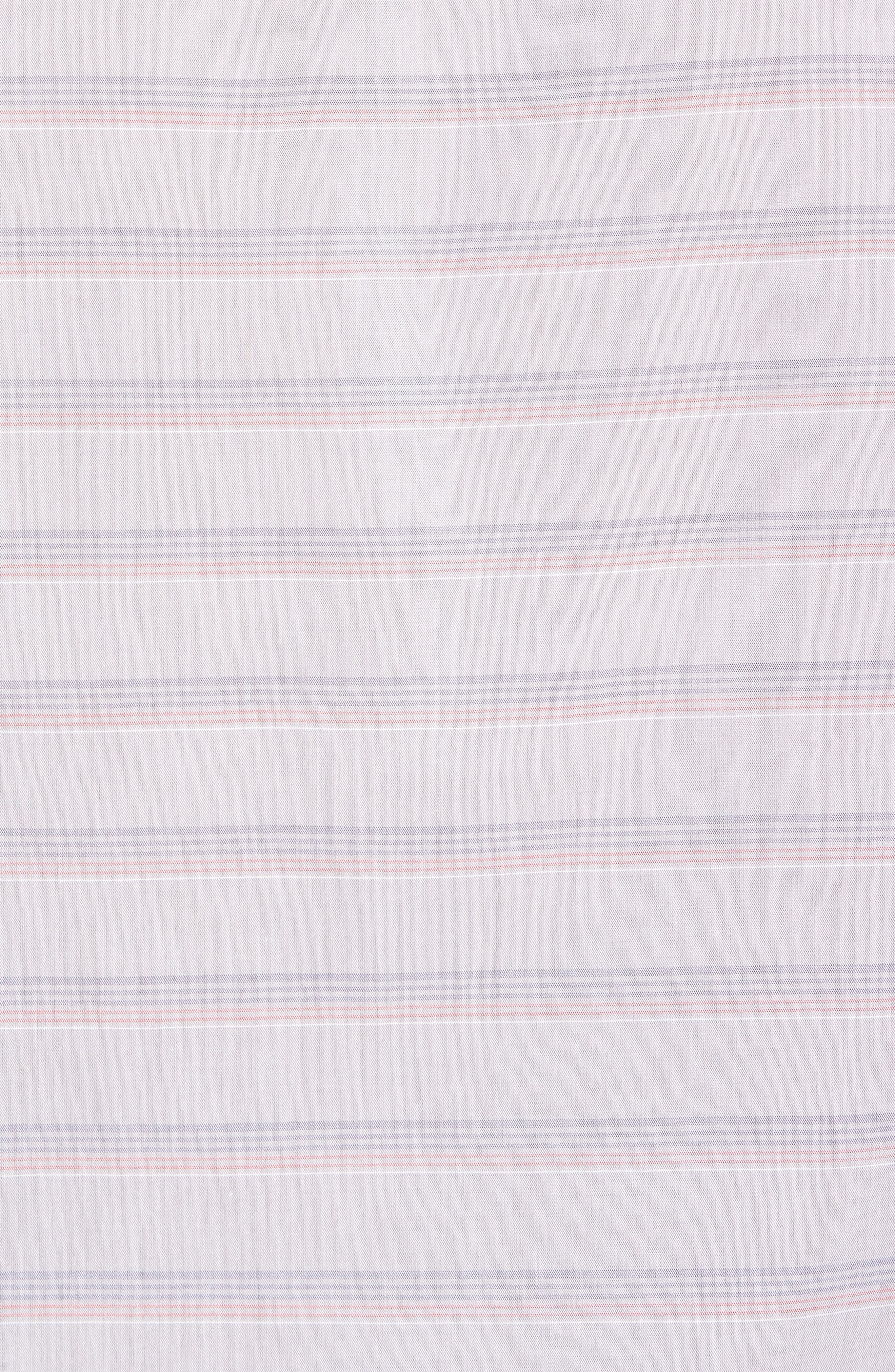 Comet Regular Fit Short Sleeve Sport Shirt,                             Alternate thumbnail 5, color,                             Heather Sharkskin