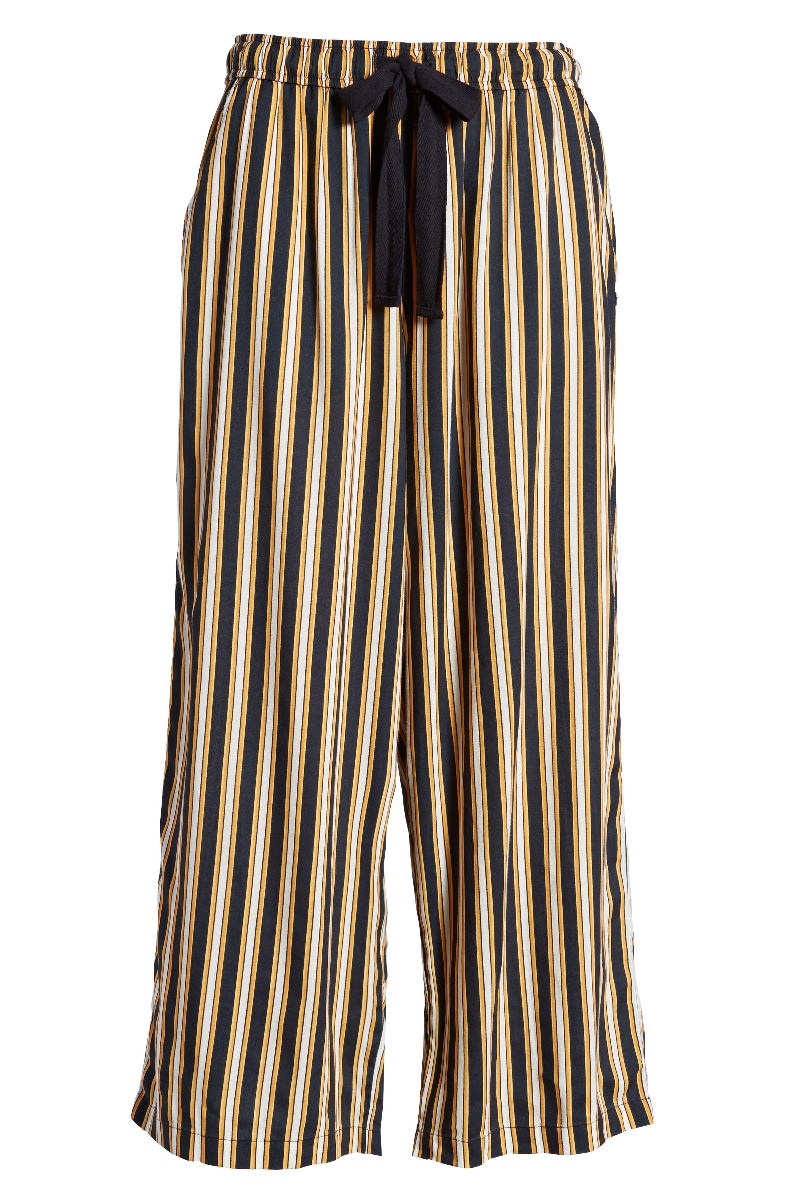 Stoney Stripe Pants,                             Alternate thumbnail 8, color,                             Navy Sea