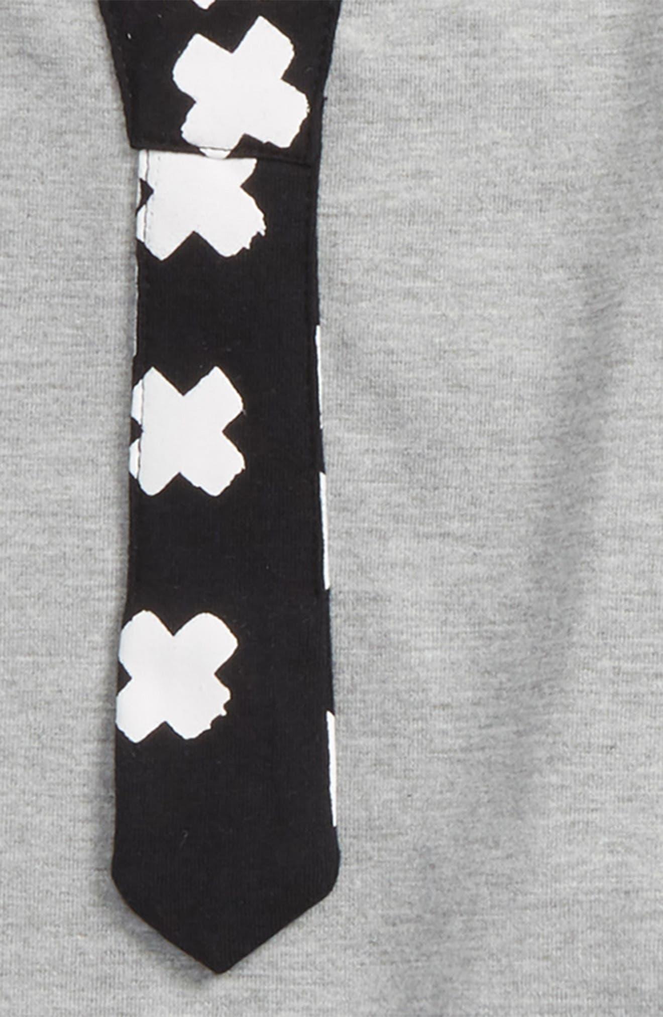 T-Shirt, Jogger Pants & Cap Set,                             Alternate thumbnail 2, color,                             X Black/ Grey