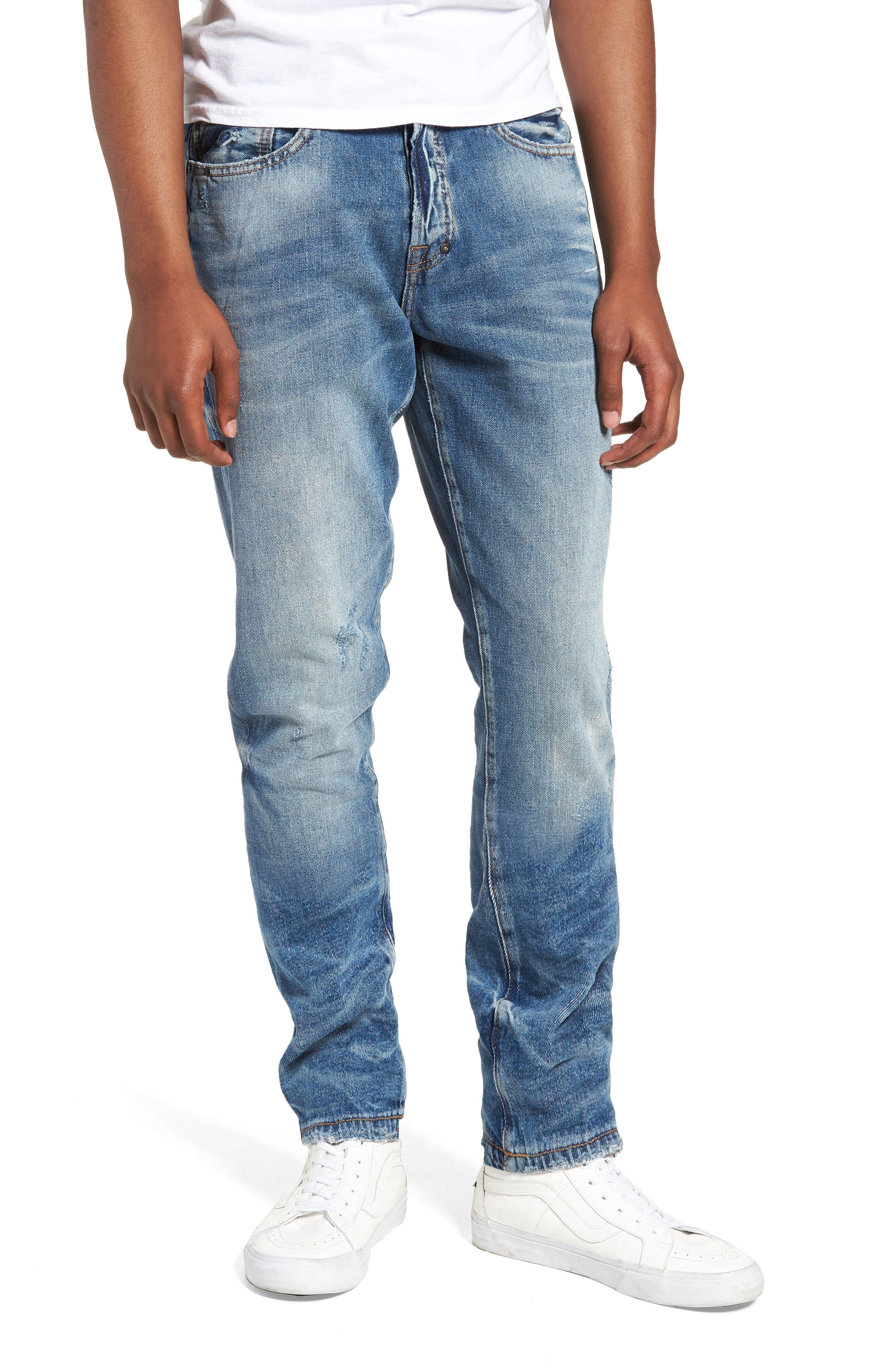 Le Sabre Tapered Fit,                             Main thumbnail 1, color,                             5 Year Wash