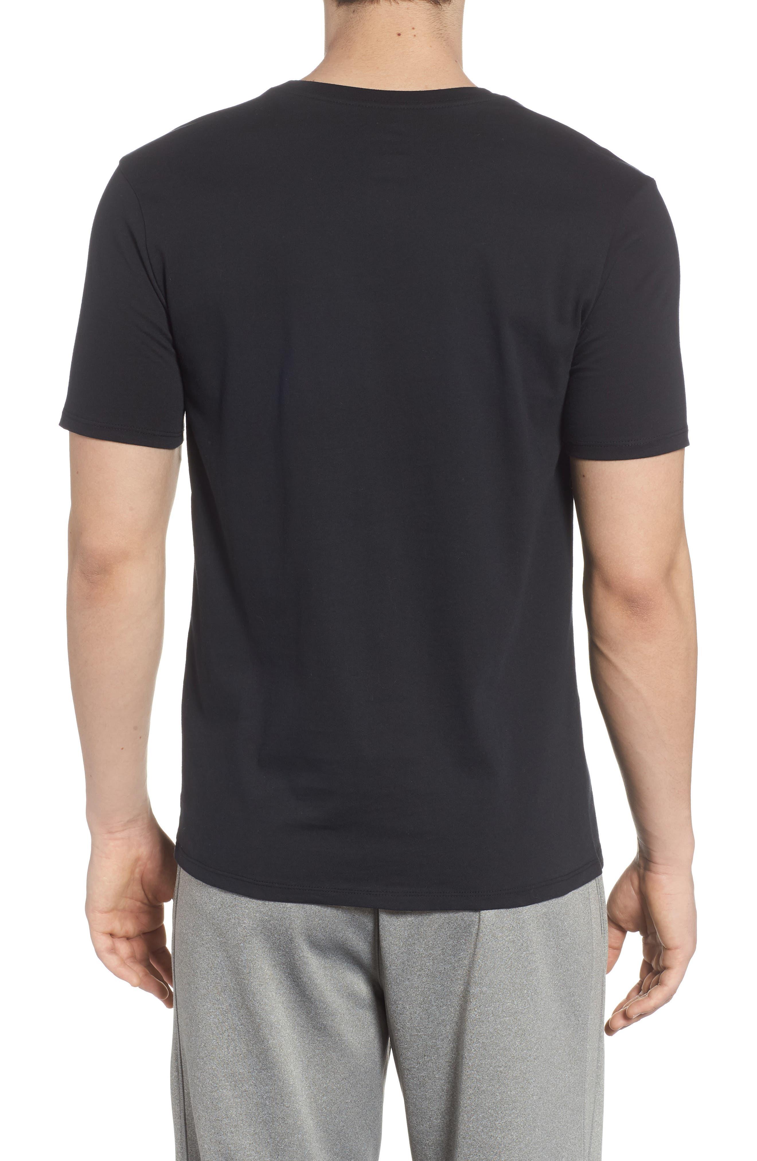 Sportswear Graphic T-Shirt,                             Alternate thumbnail 2, color,                             Black