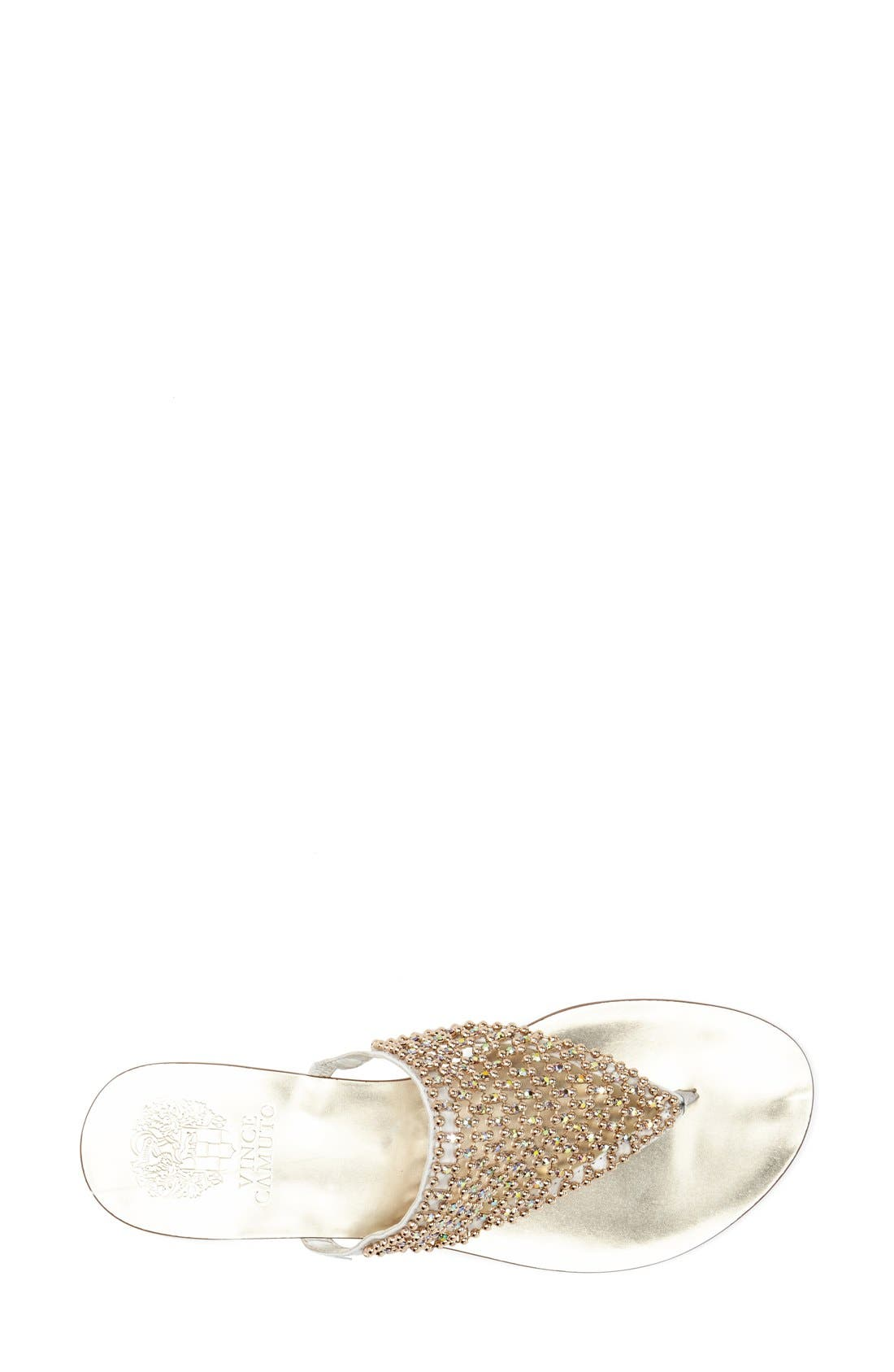 Alternate Image 3  - Vince Camuto 'Mombo' Embellished Thong Sandal (Women)