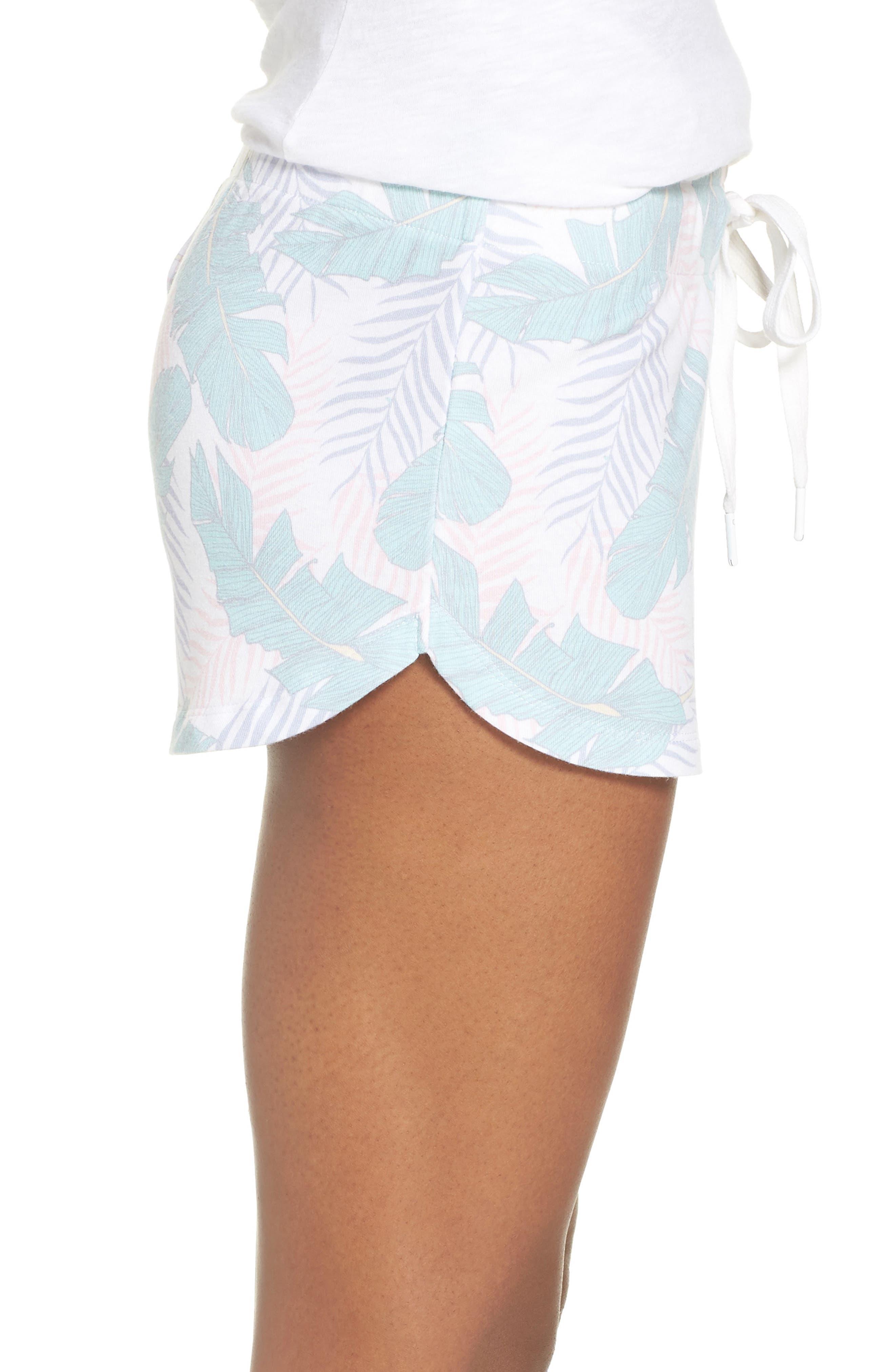 Lounge Shorts,                             Alternate thumbnail 3, color,                             White