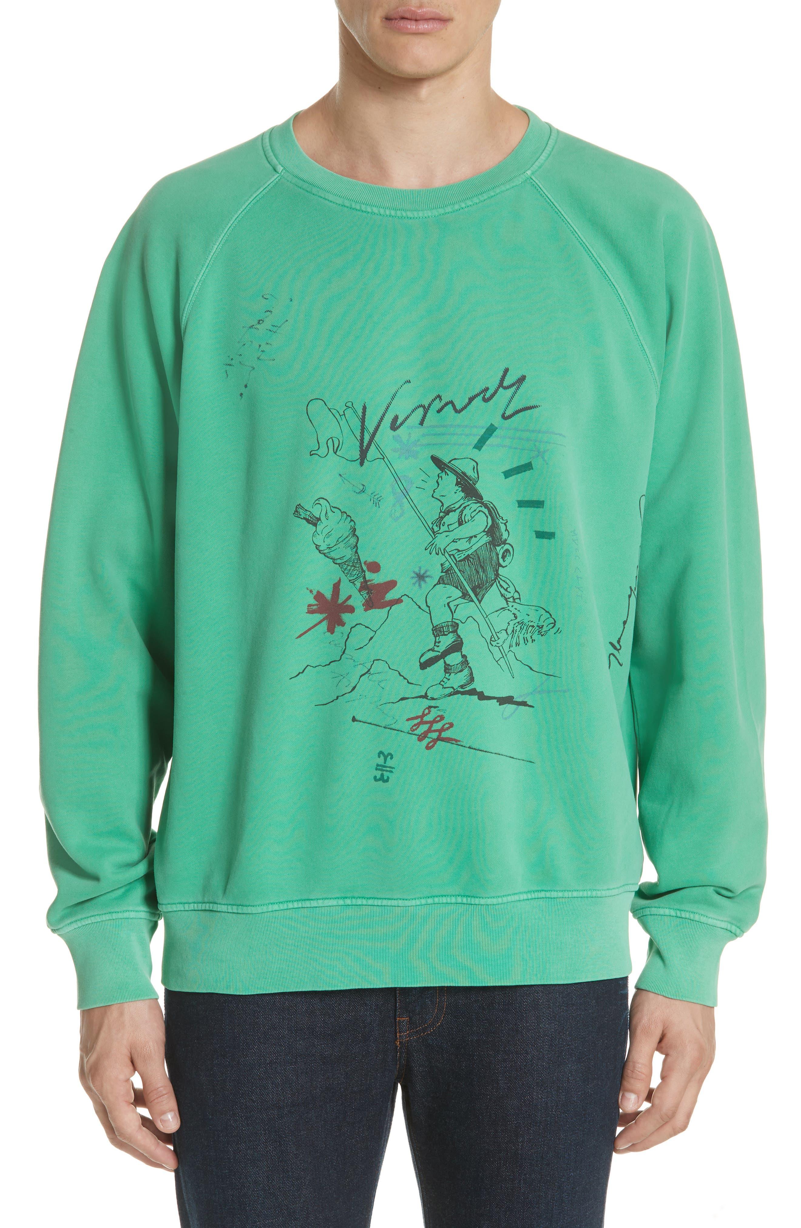 Burberry Harnett Graphic Sweatshirt