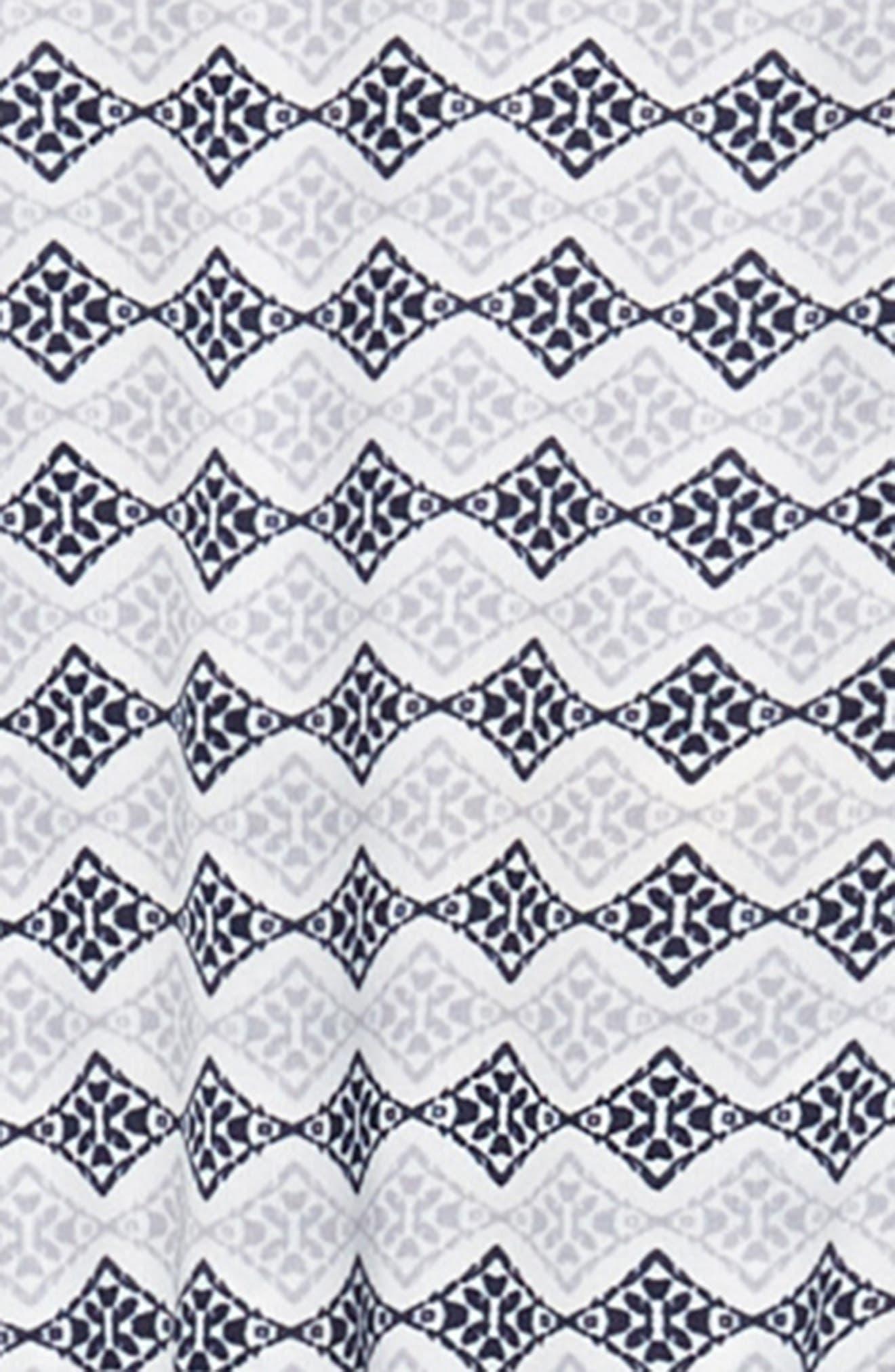 Alternate Image 3  - Soprano Print Handkerchief Dress (Big Girls)