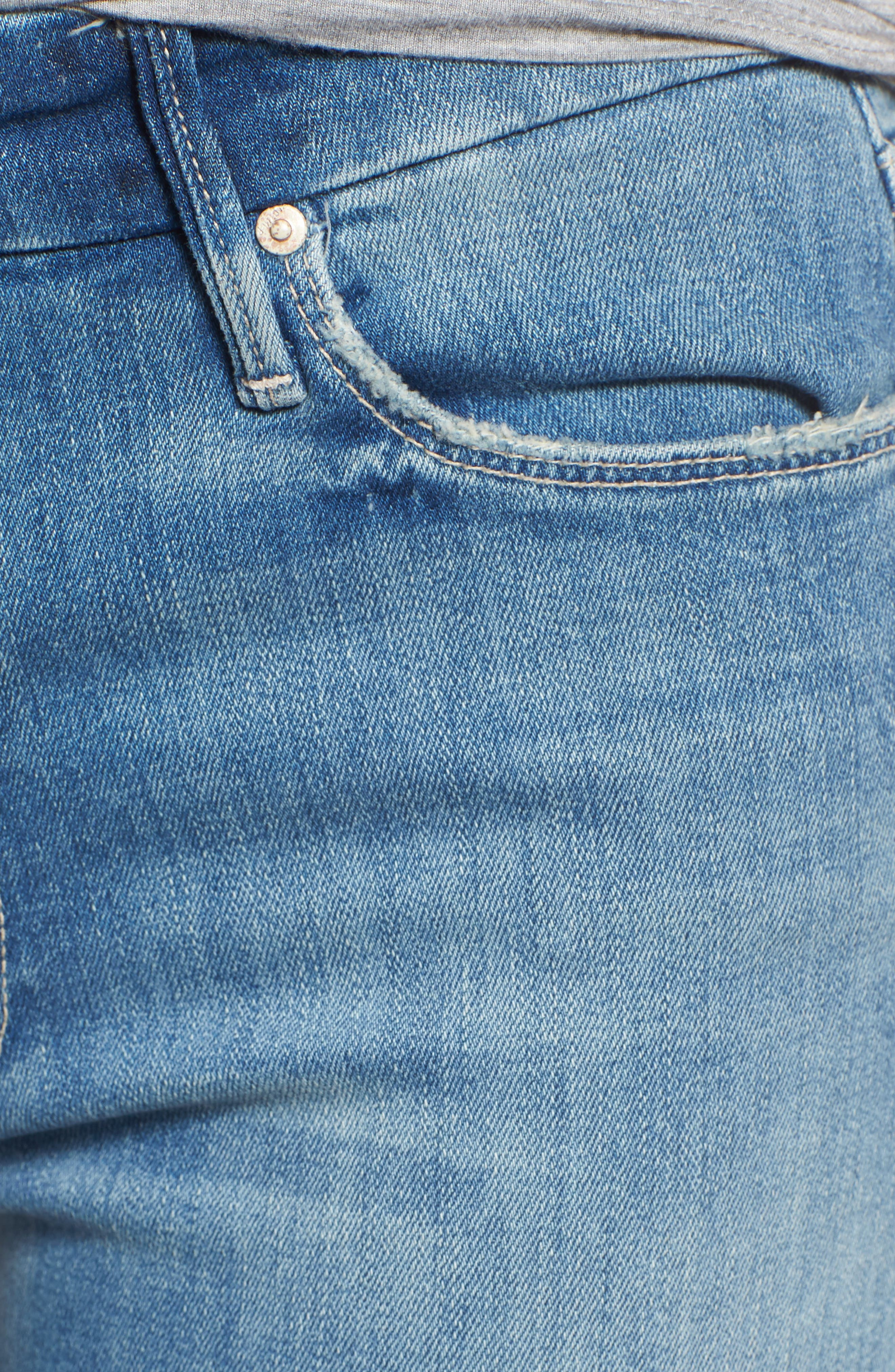 The Looker Crop Skinny Jeans,                             Alternate thumbnail 6, color,                             Well Played