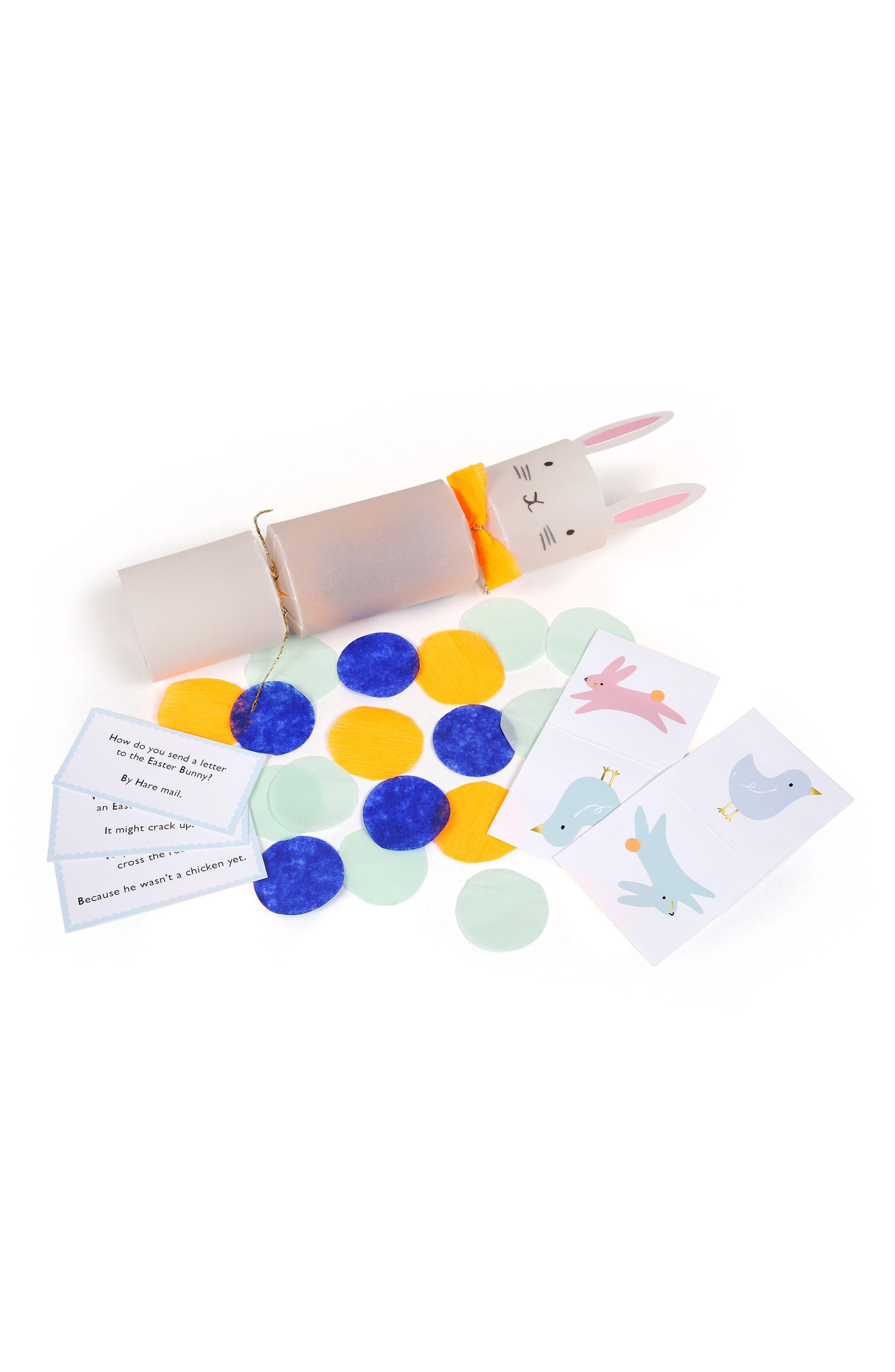 Set of 6 Bunny Crackers,                             Alternate thumbnail 2, color,                             White