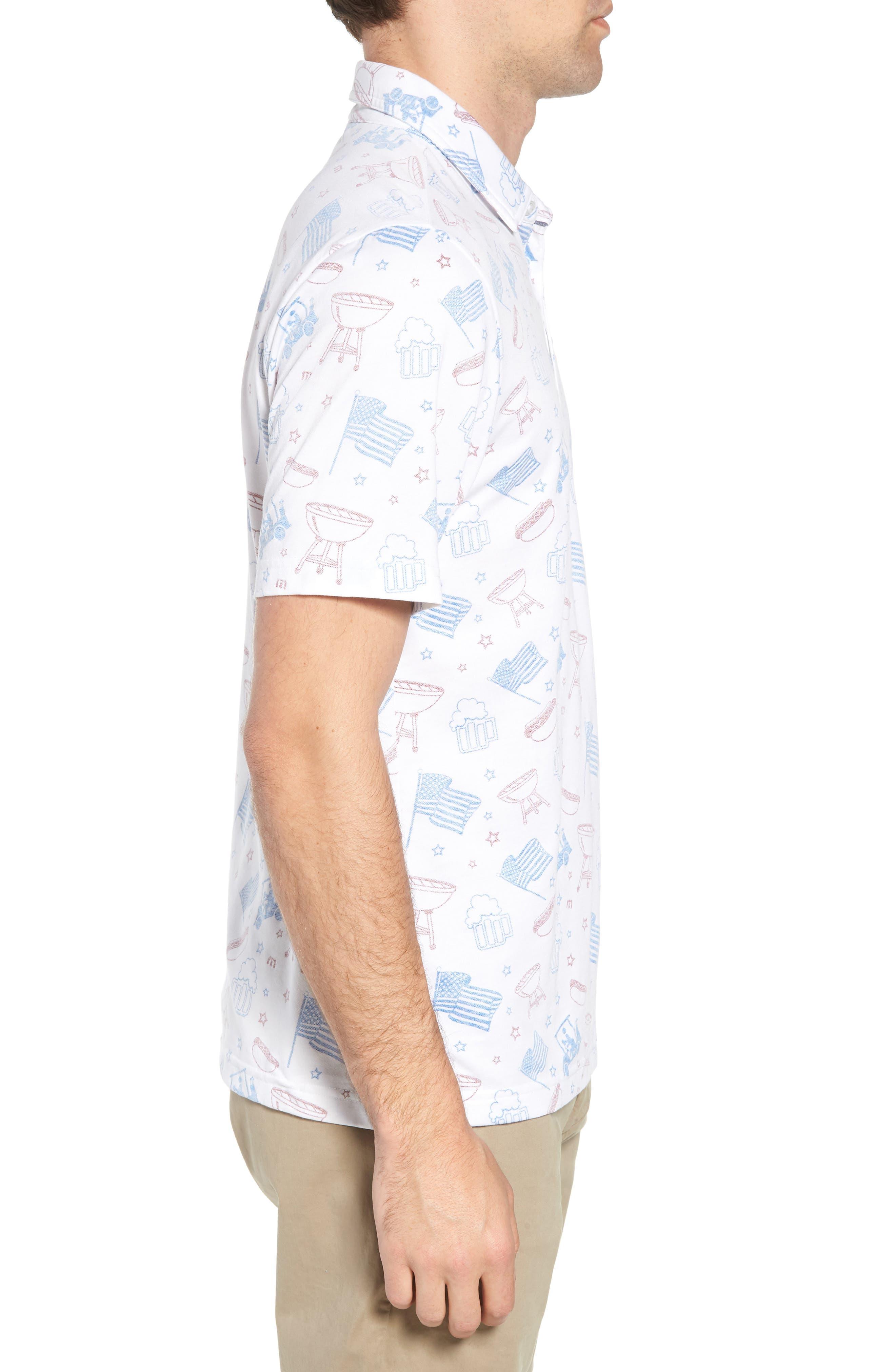 Ahh Yeah Regular Fit Short Sleeve Sport Shirt,                             Alternate thumbnail 4, color,                             White
