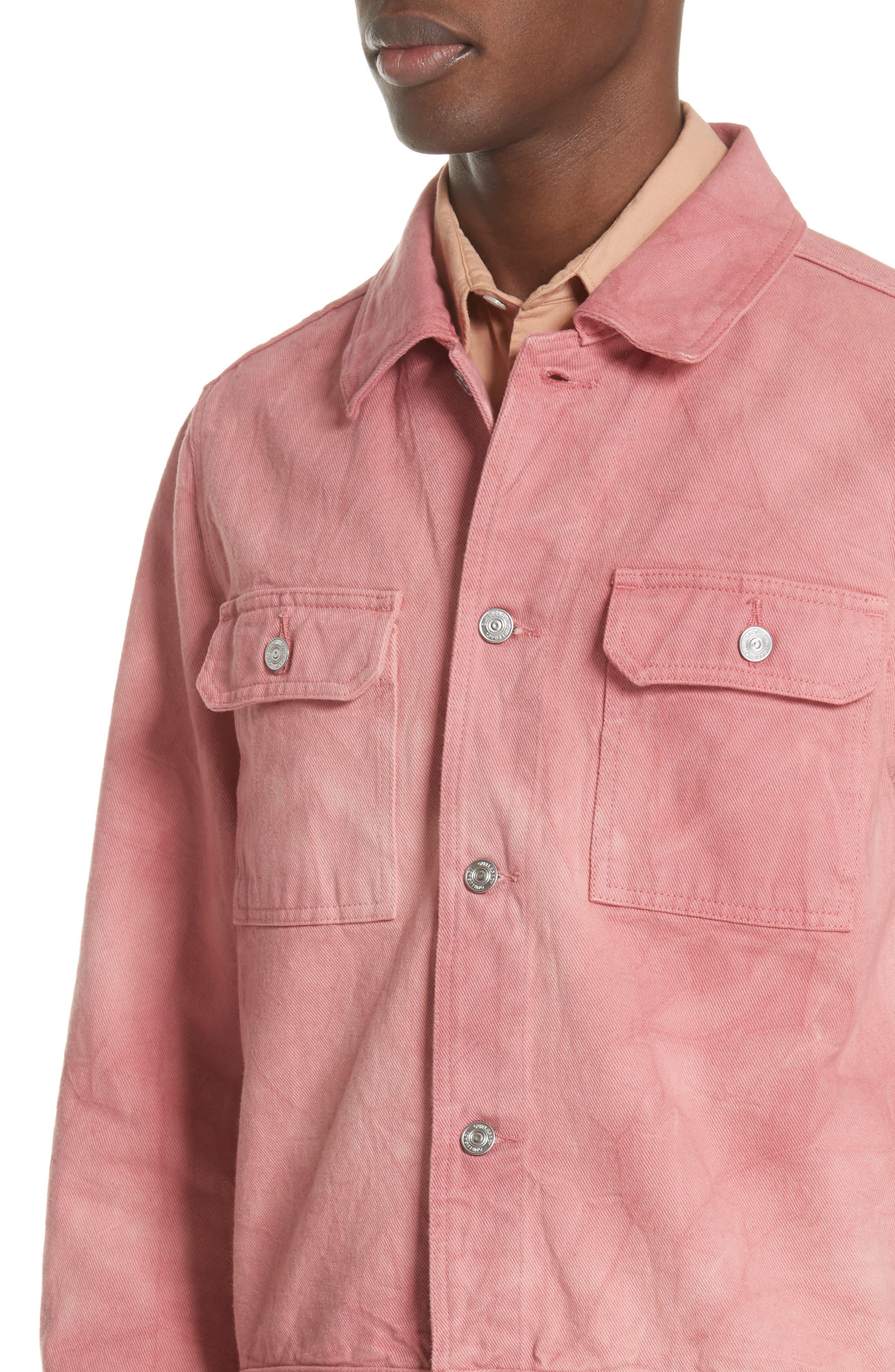 Dye Jacket,                             Alternate thumbnail 4, color,                             Pink
