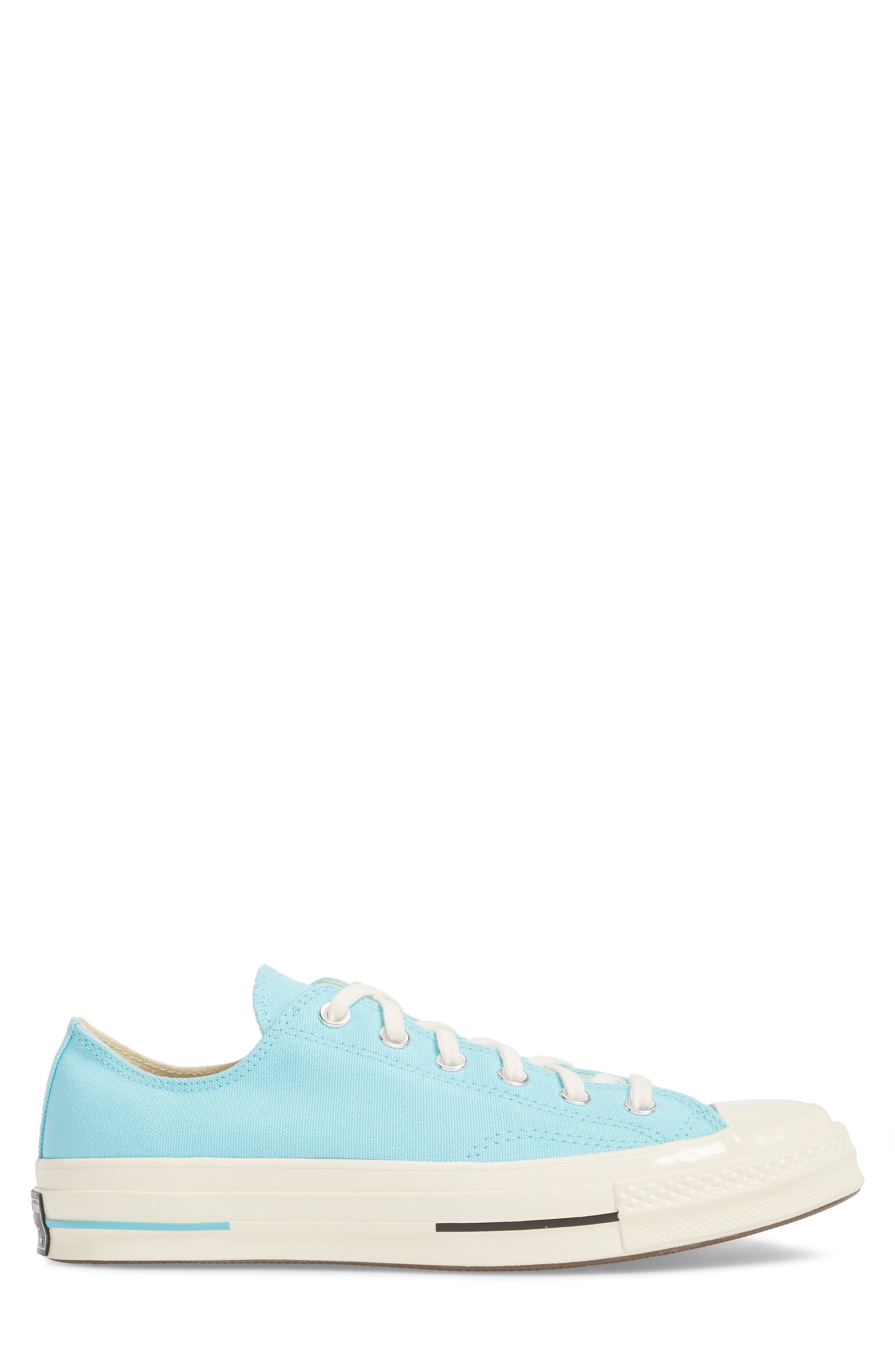 Chuck Taylor<sup>®</sup> All Star<sup>®</sup> 70 Brights Low Top Sneaker,                             Alternate thumbnail 3, color,                             Beached Aqua