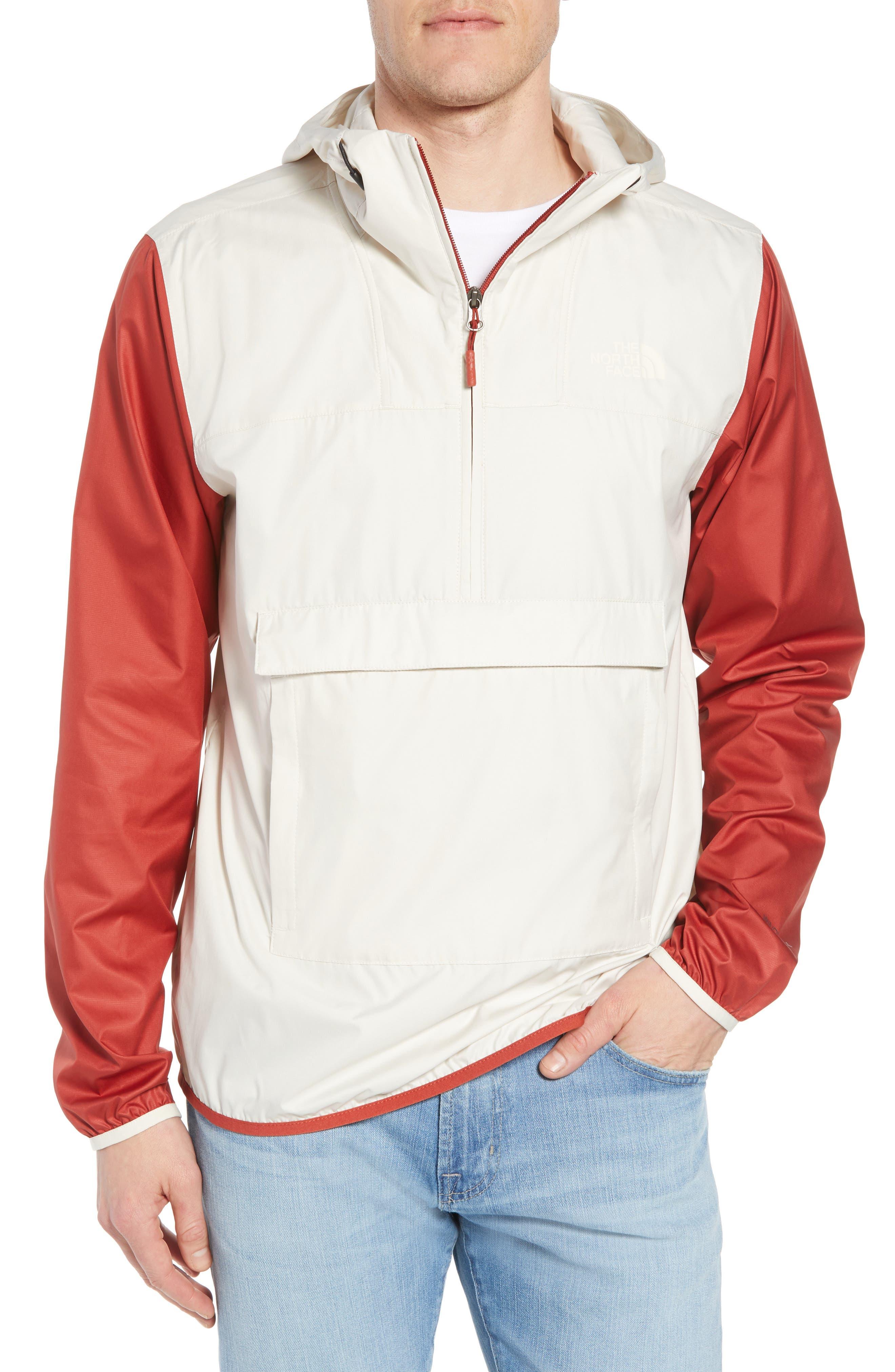 Fanorak Pullover,                         Main,                         color, Vintage White Multi
