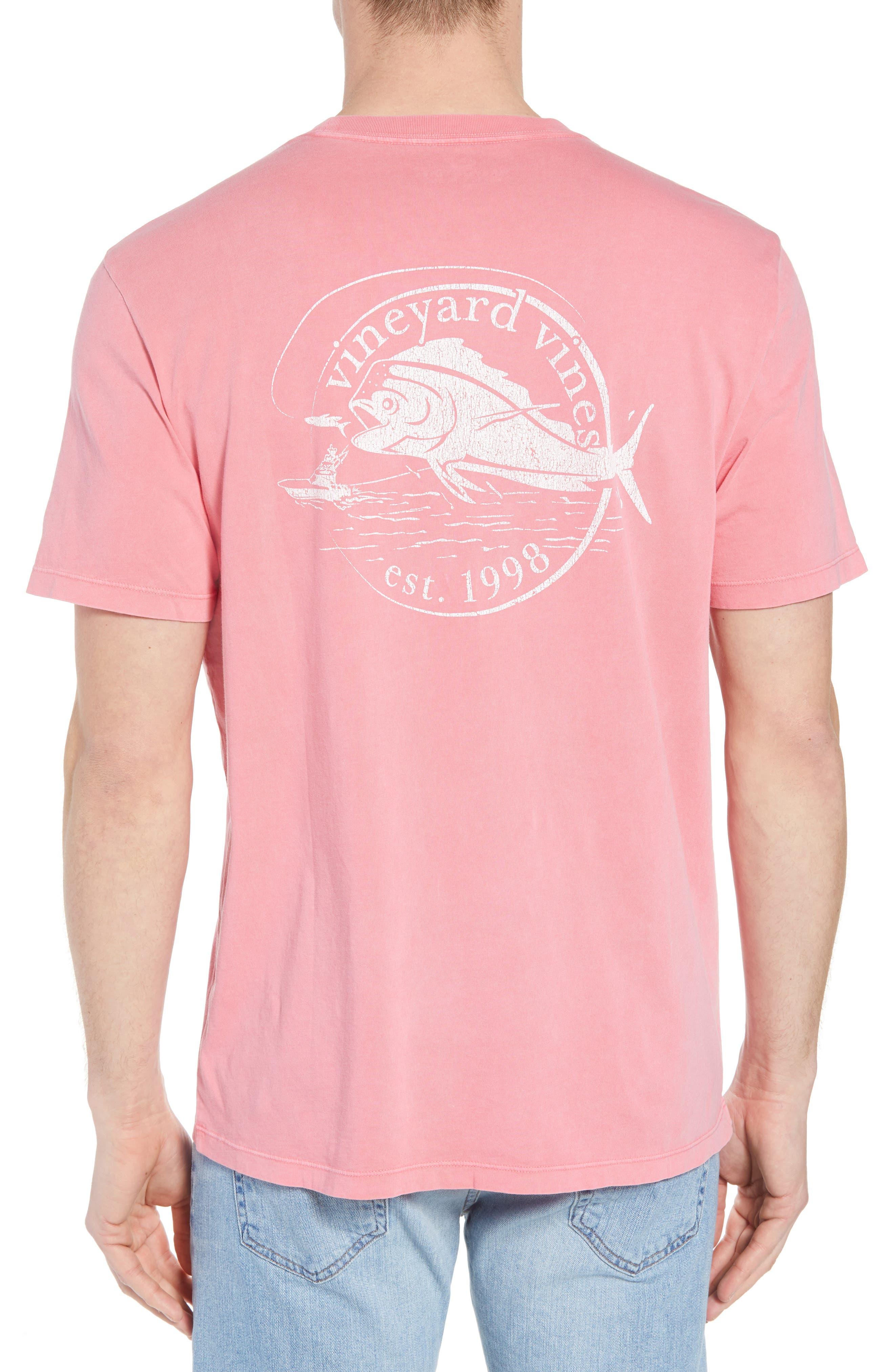 Vintage Mahi Regular Fit Crewneck T-Shirt,                             Alternate thumbnail 2, color,                             Jetty Red