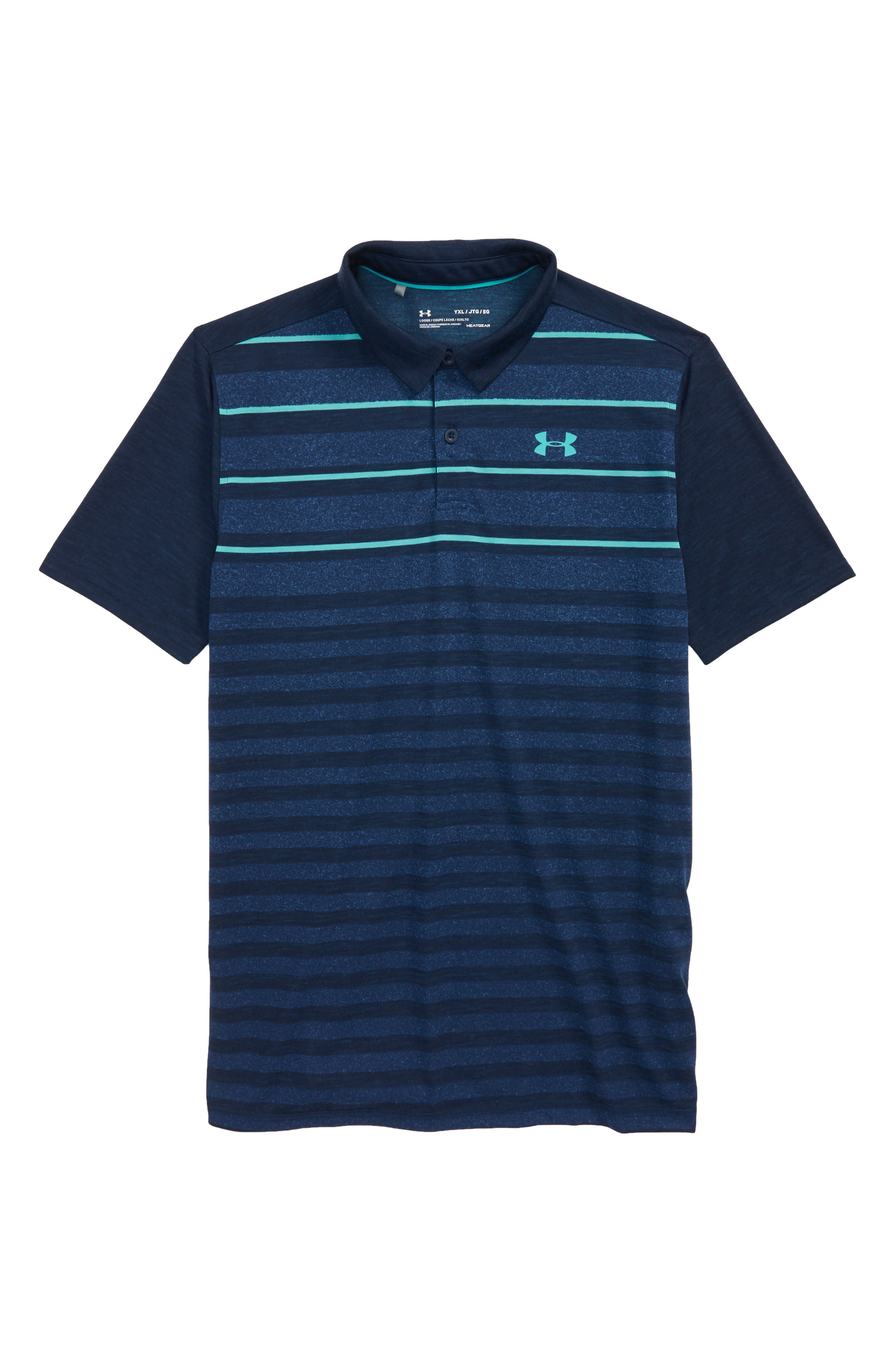 Under Armour Threadborne Bunker Polo (Big Boys)