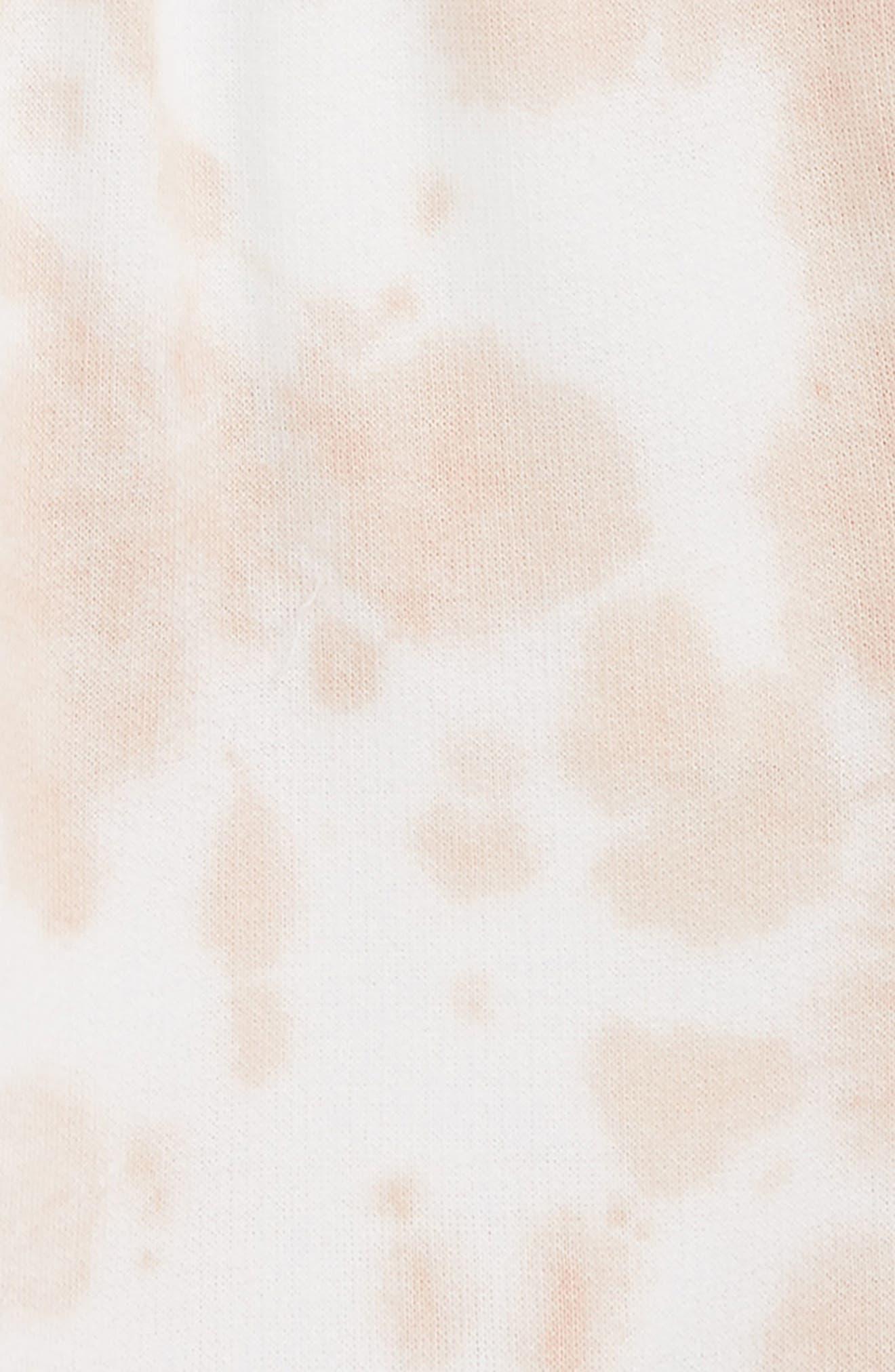 Alternate Image 2  - Stem Tie Dye Shorts (Toddler Girls, Little Girls & Big Girls)