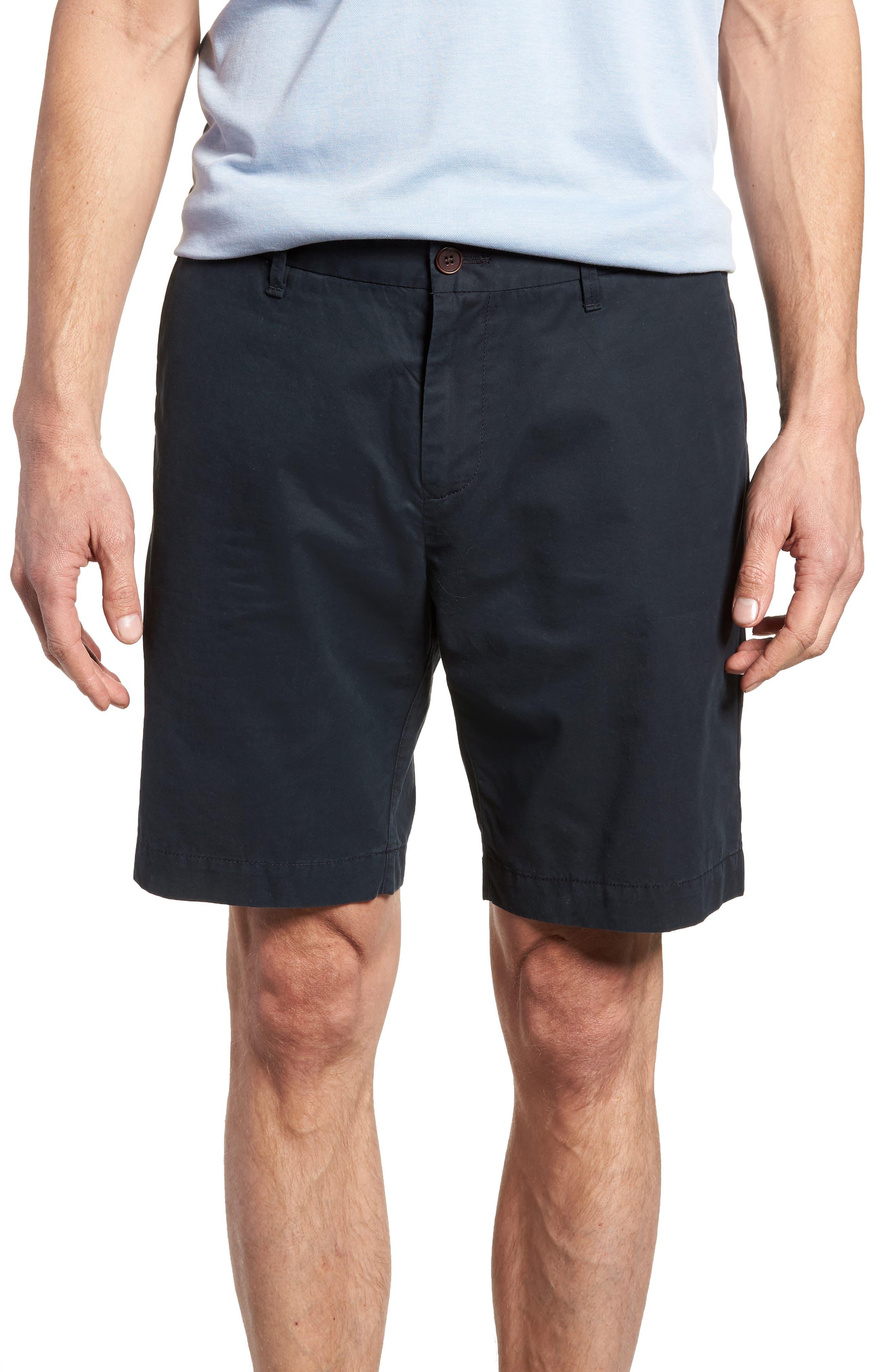 Lambton Regular Fit Shorts,                             Main thumbnail 1, color,                             Marine