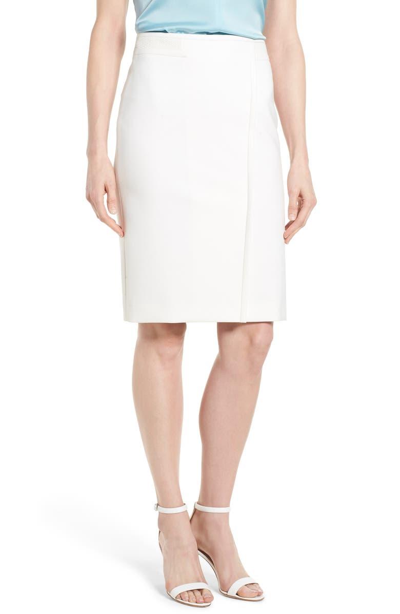Vadama Ponte Pencil Skirt