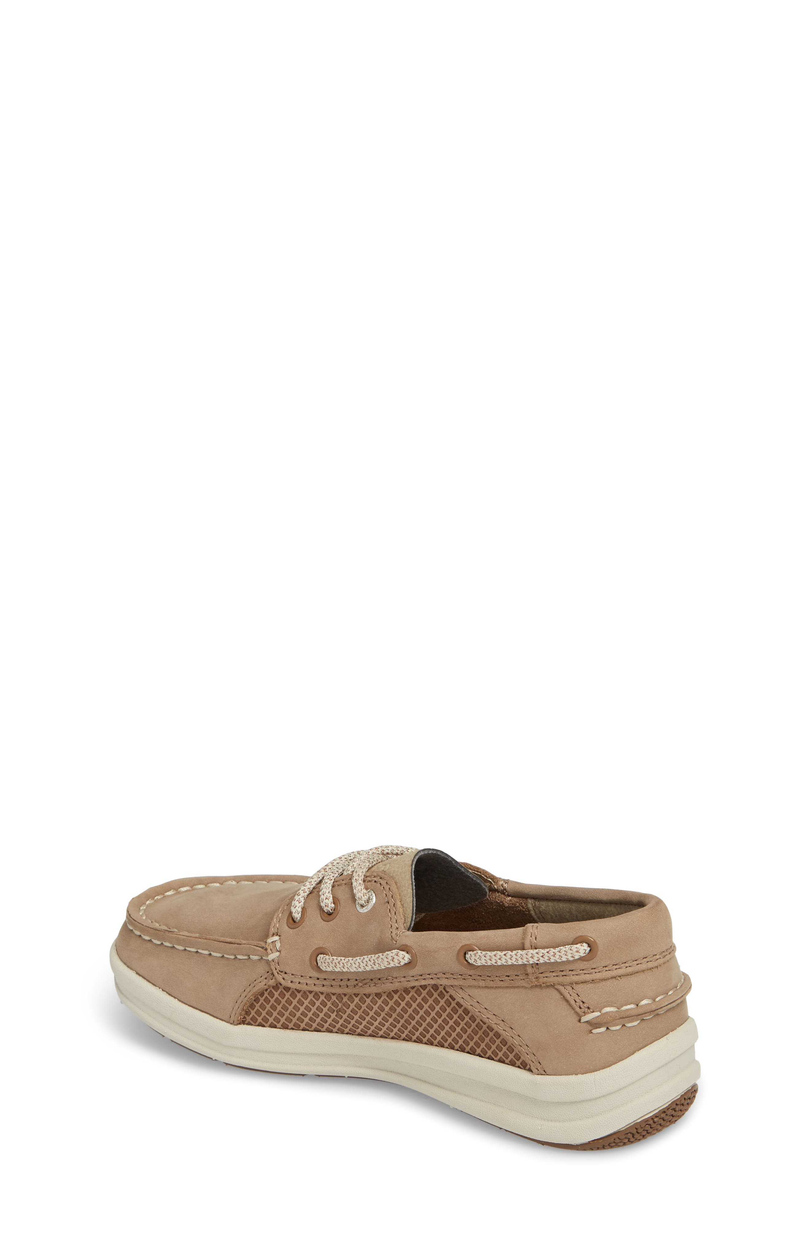 Sperry Gamefish Boat Shoe,                             Alternate thumbnail 2, color,                             Light Tan Leather
