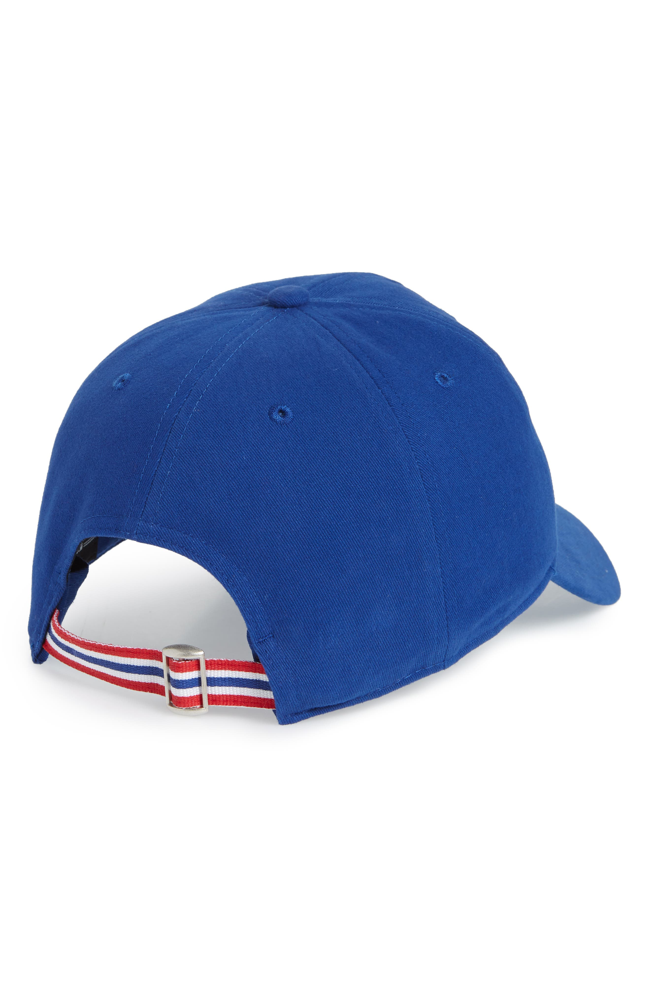 Courtney Clean-Up Chicago Cubs Baseball Cap,                             Alternate thumbnail 2, color,                             Blue