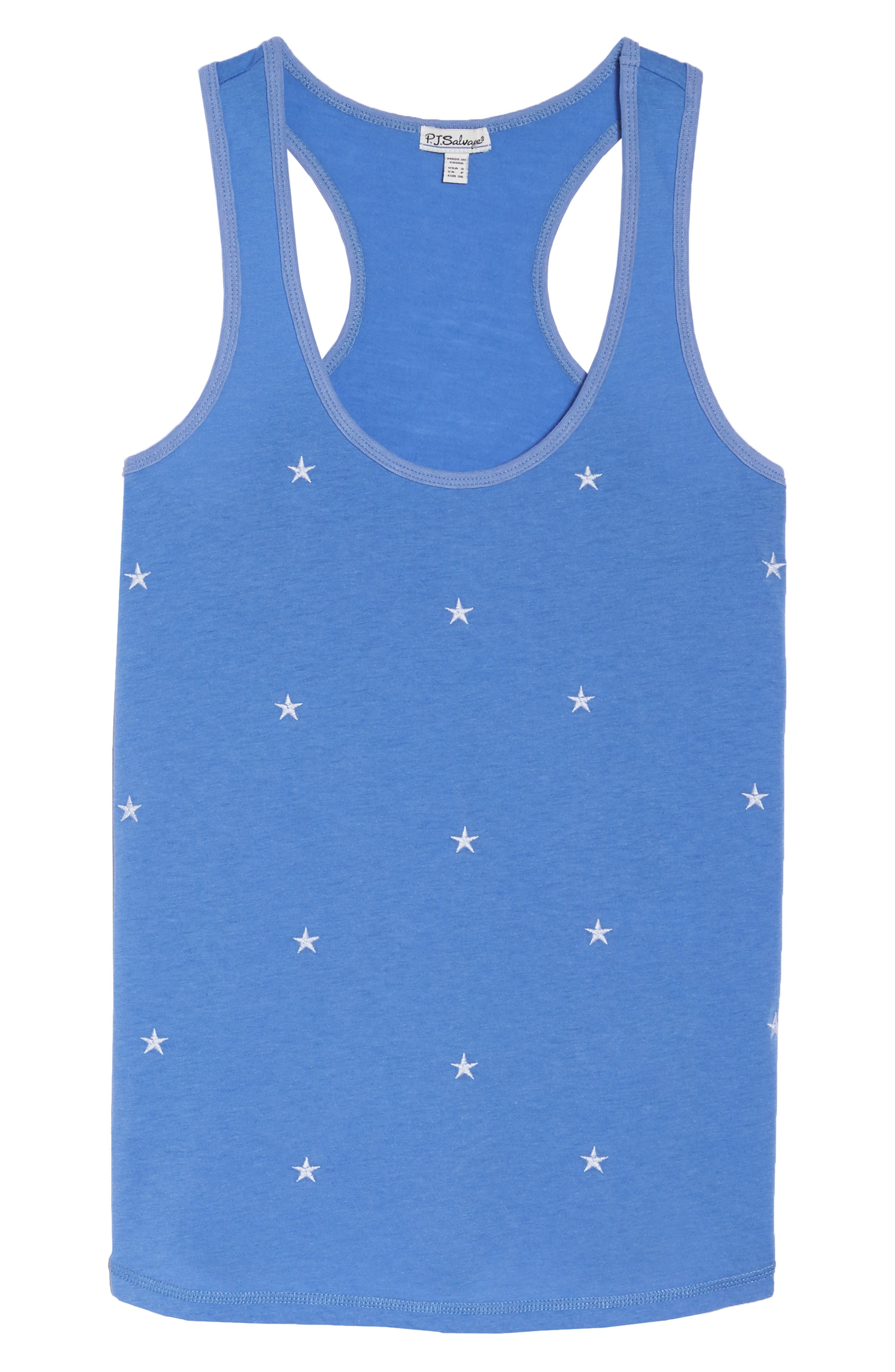 Alternate Image 6  - PJ Salvage Embroidered Star Tank