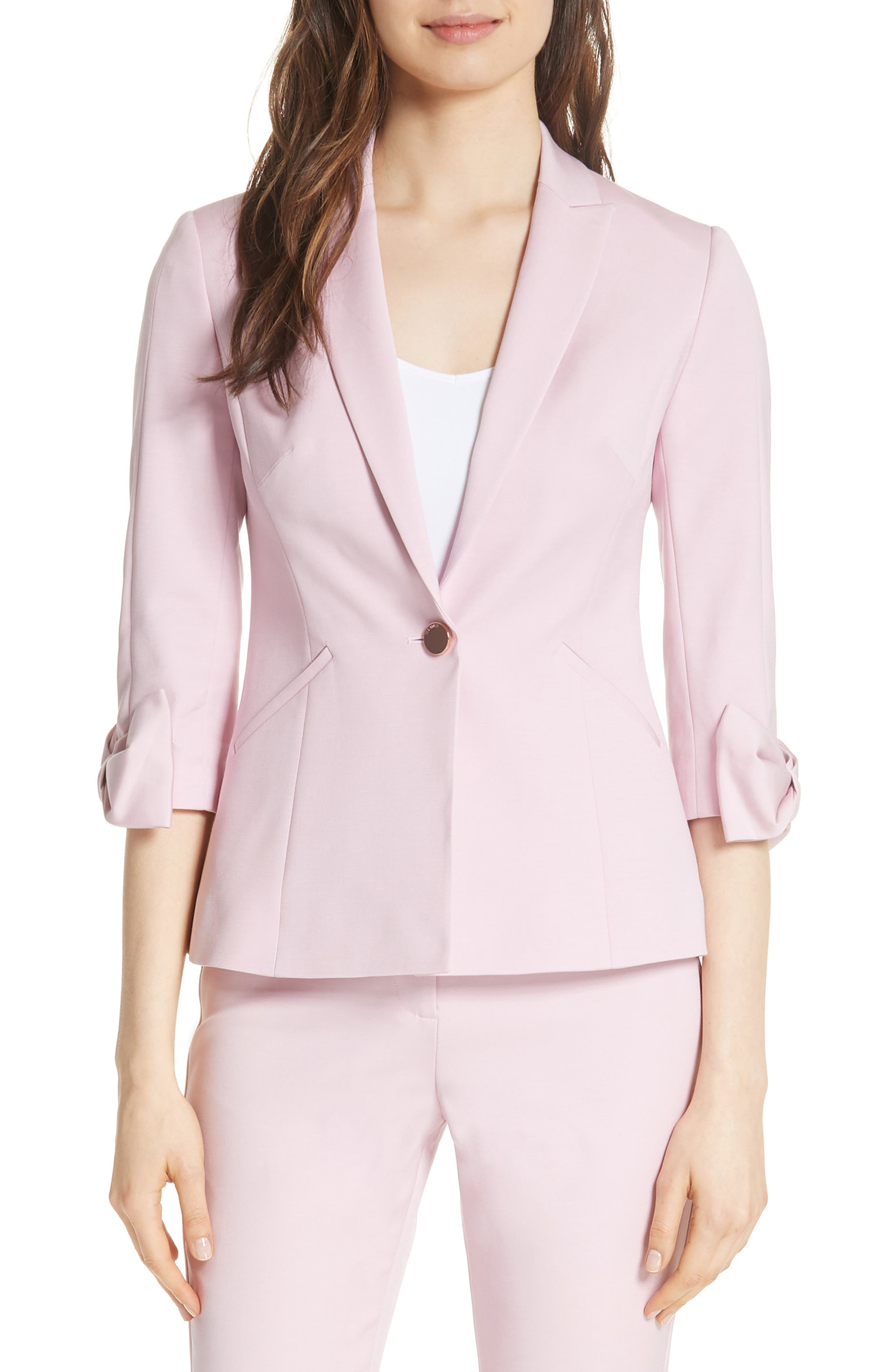 Ted Baker London Toply Bow Cuff Jacket