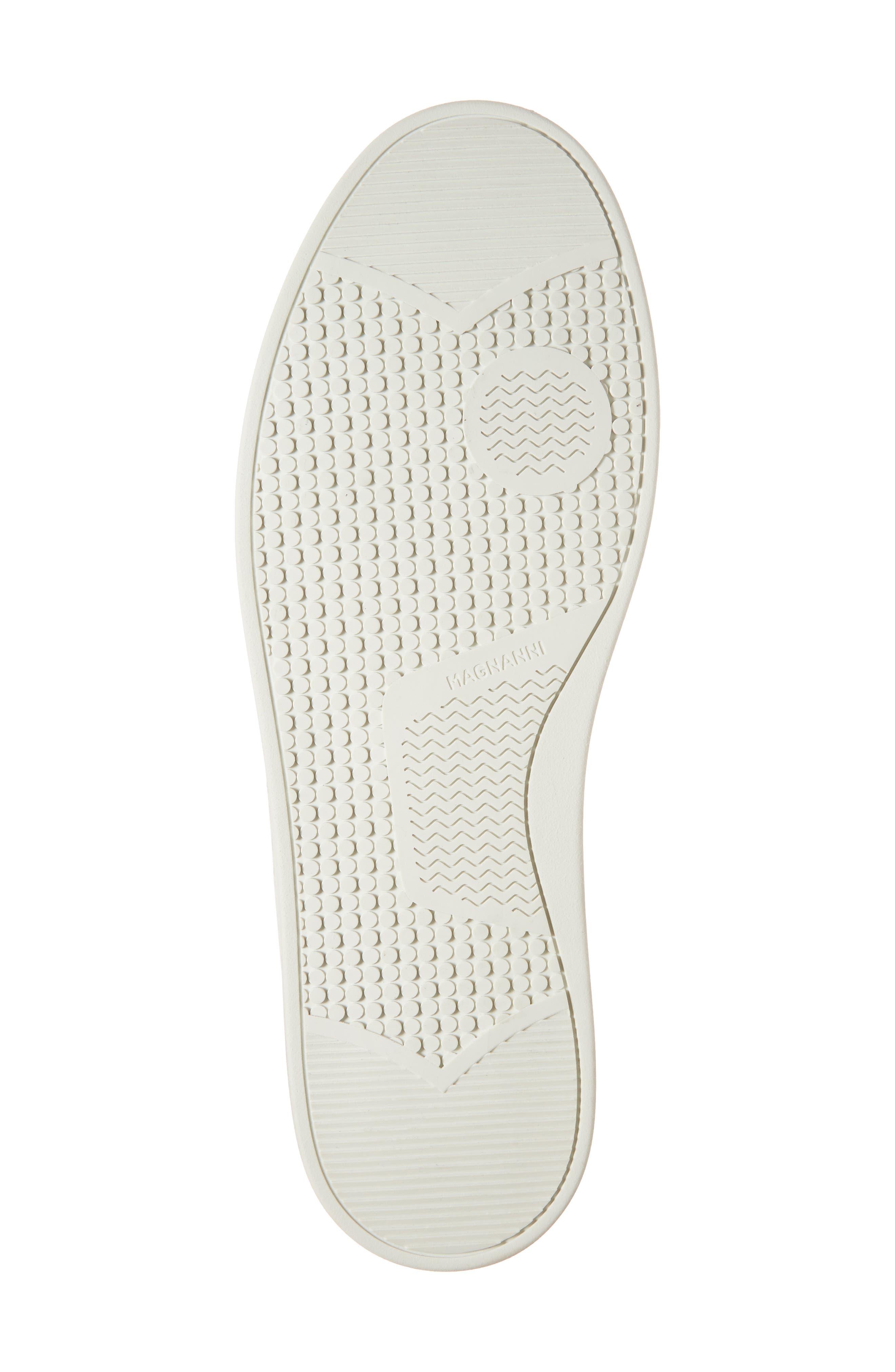 Juniper Brogued Low Top Sneaker,                             Alternate thumbnail 6, color,                             Grey Leather