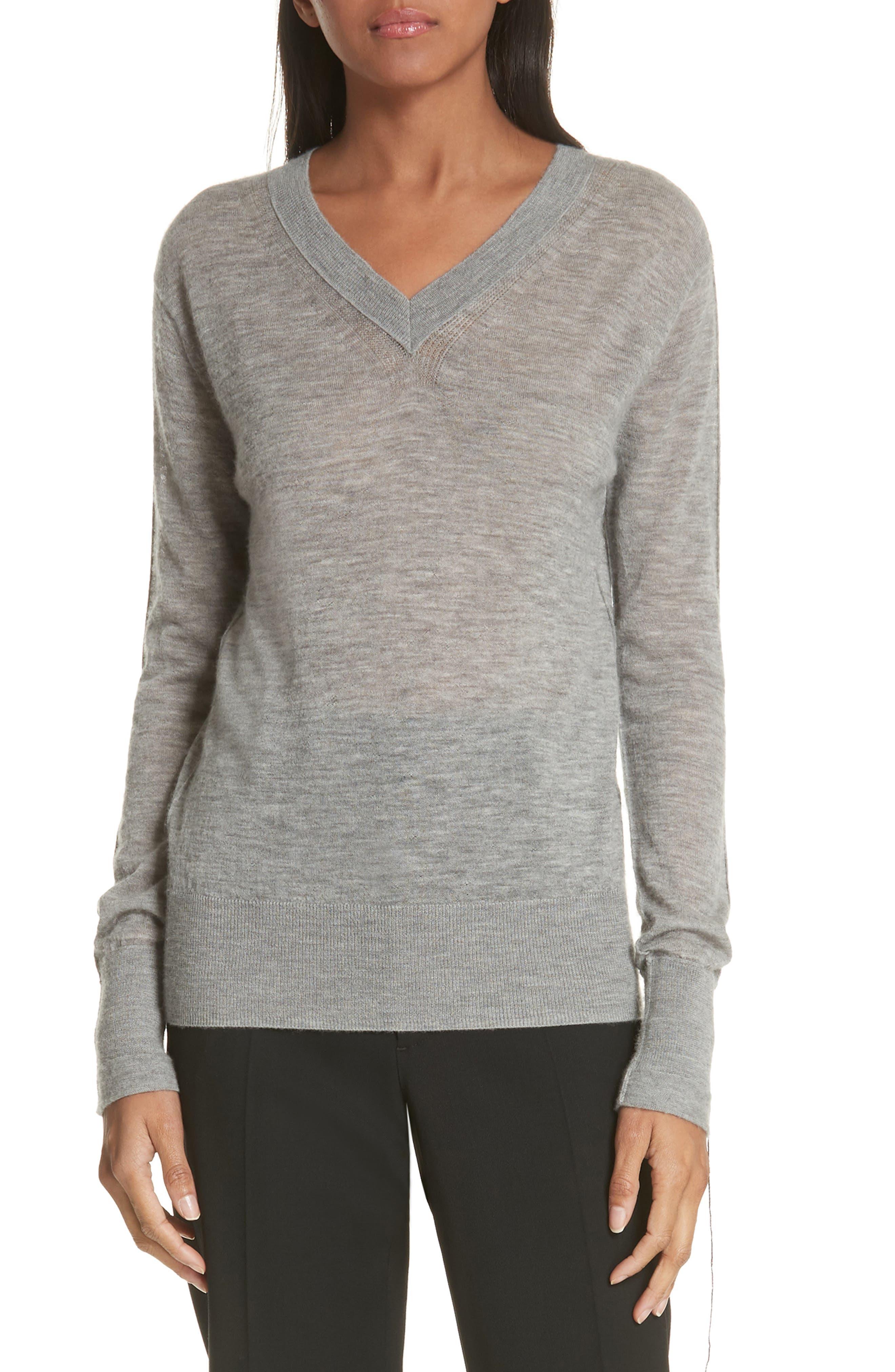 Helmut Lang Sheer Cashmere Sweater