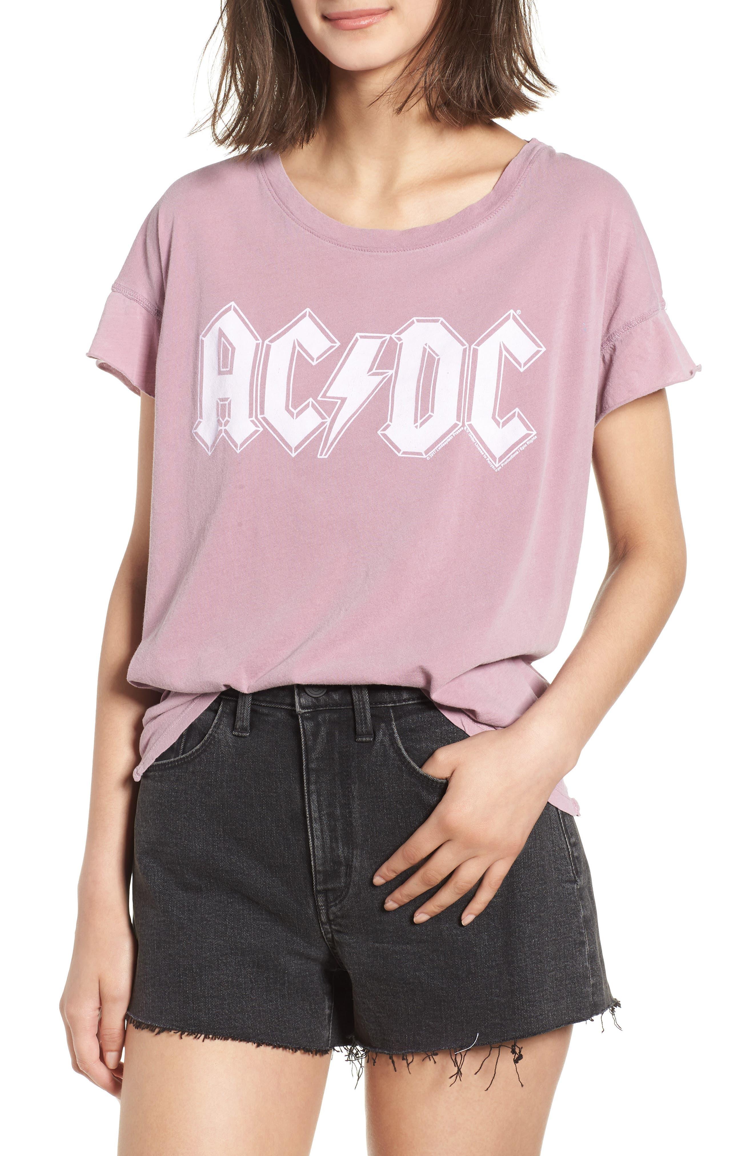 AC/DC Tee,                         Main,                         color, Dawn