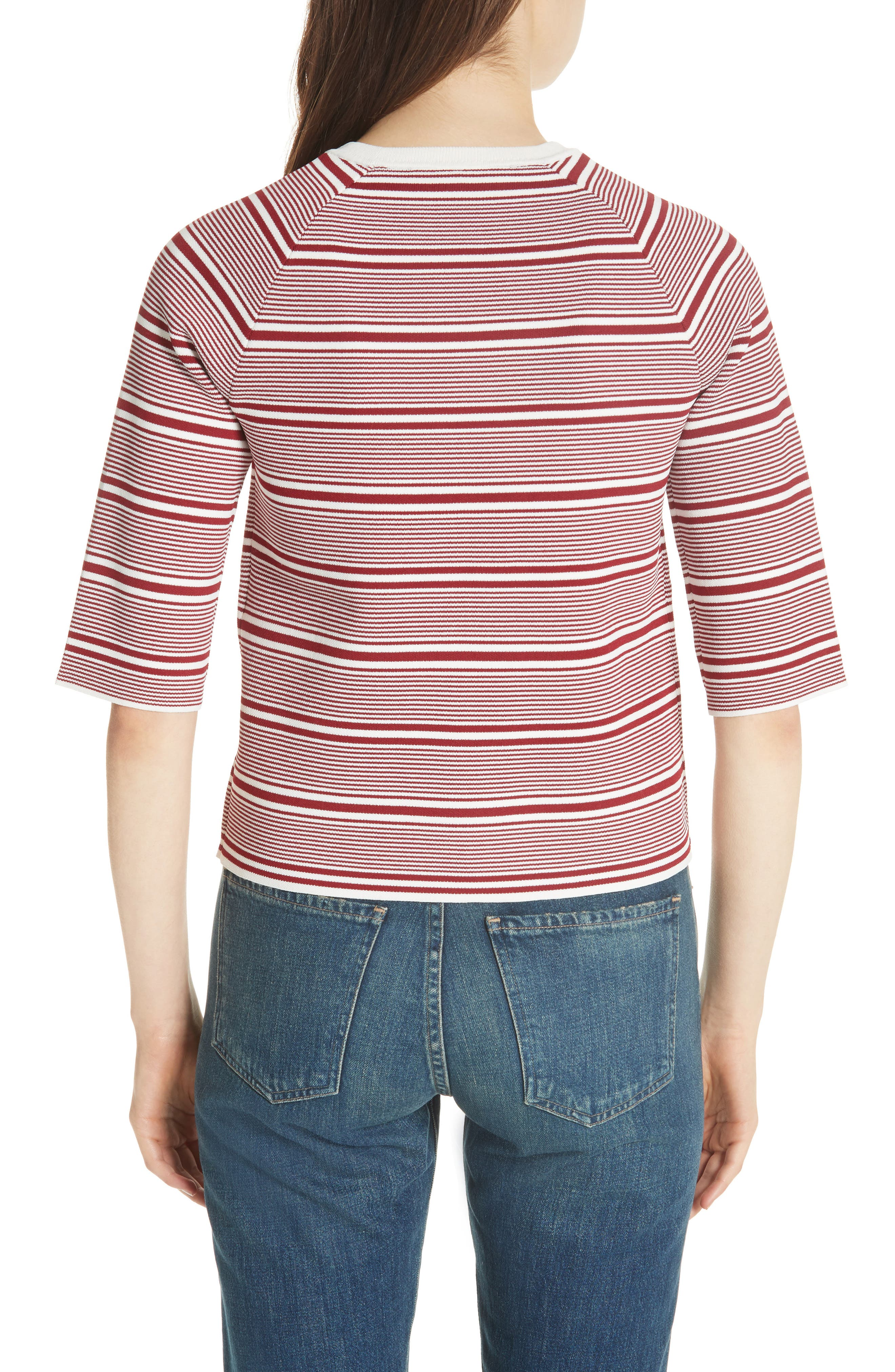 Marco Stripe Sweater,                             Alternate thumbnail 2, color,                             Rayure