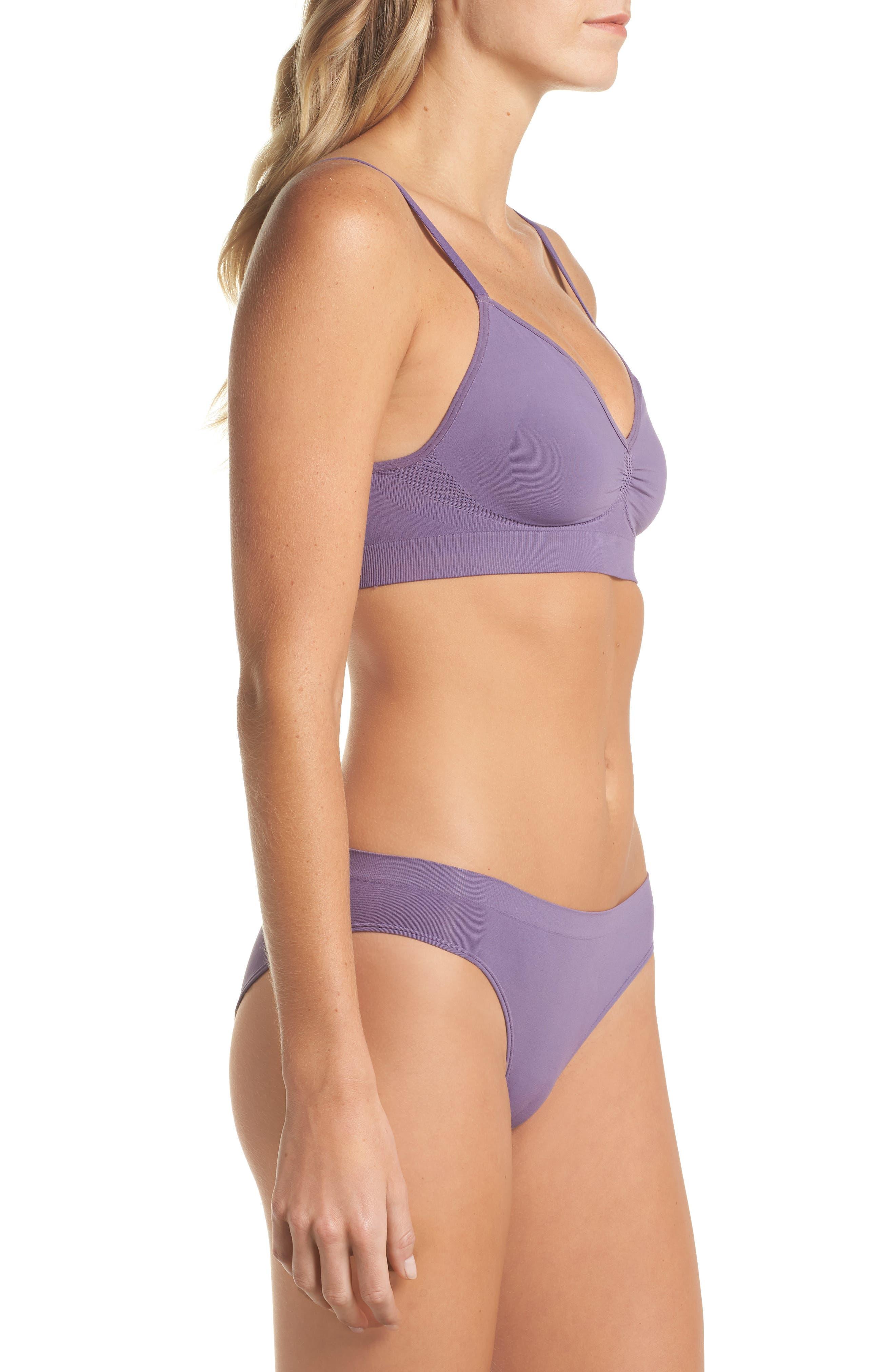 Seamless Bikini,                             Alternate thumbnail 7, color,                             Purple Mulled