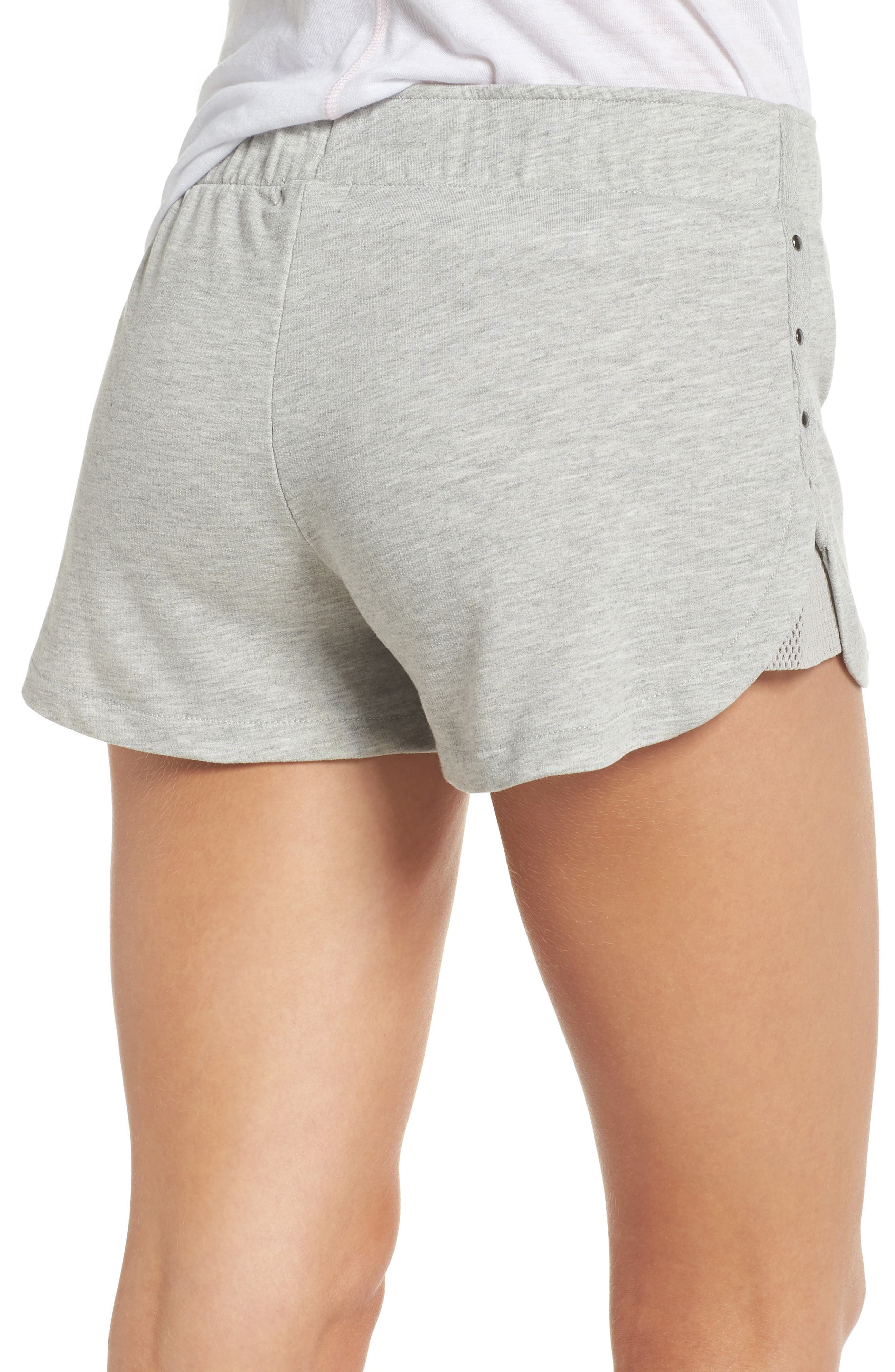 Pajama Shorts,                             Alternate thumbnail 2, color,                             H Grey