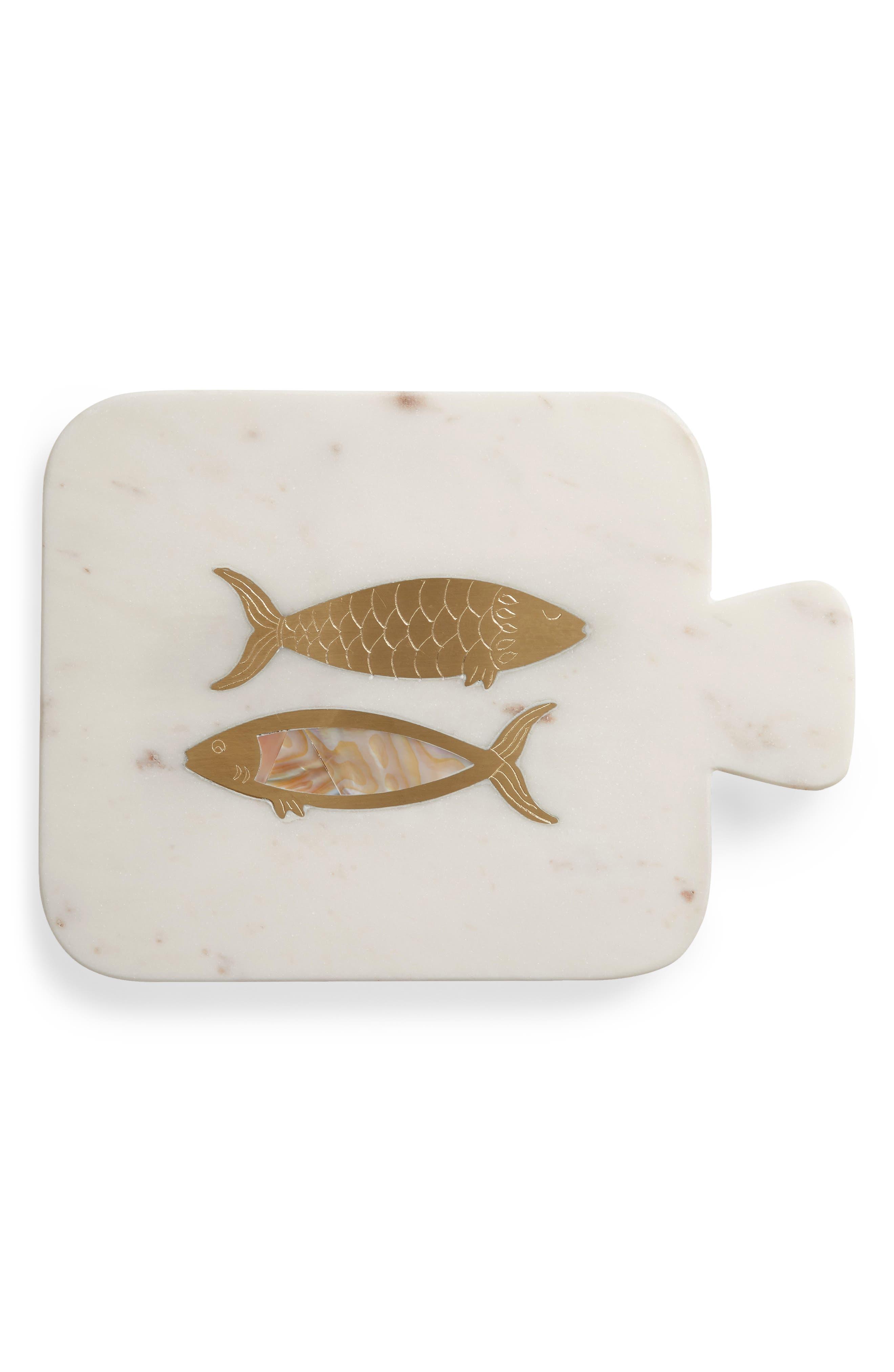 Sardine Cheese Board,                         Main,                         color, White