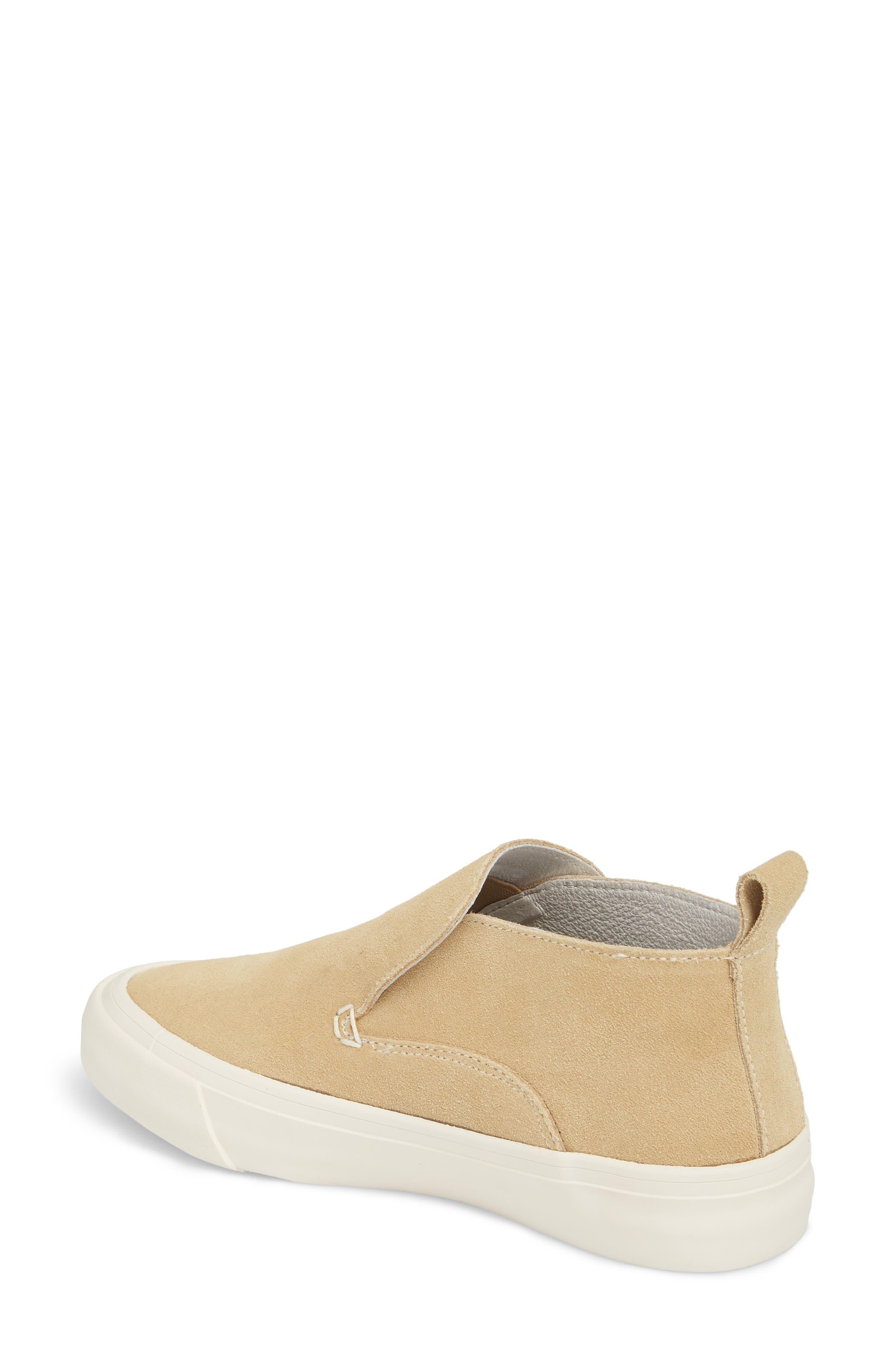 Huntington Middie Slip-On Sneaker,                             Alternate thumbnail 2, color,                             Dune