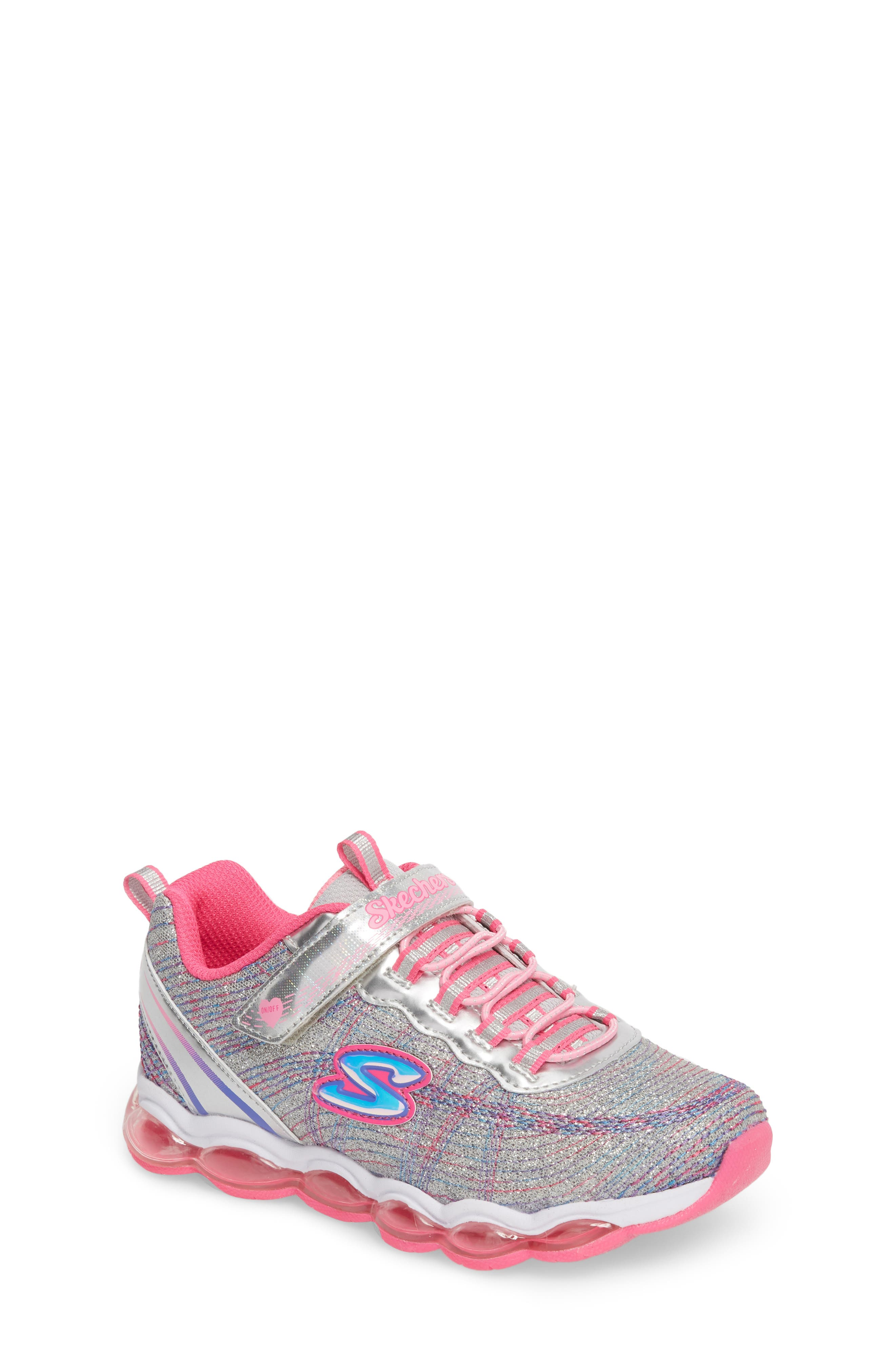 SKECHERS Glimmer Lights Sneakers (Toddler & Little Kid)