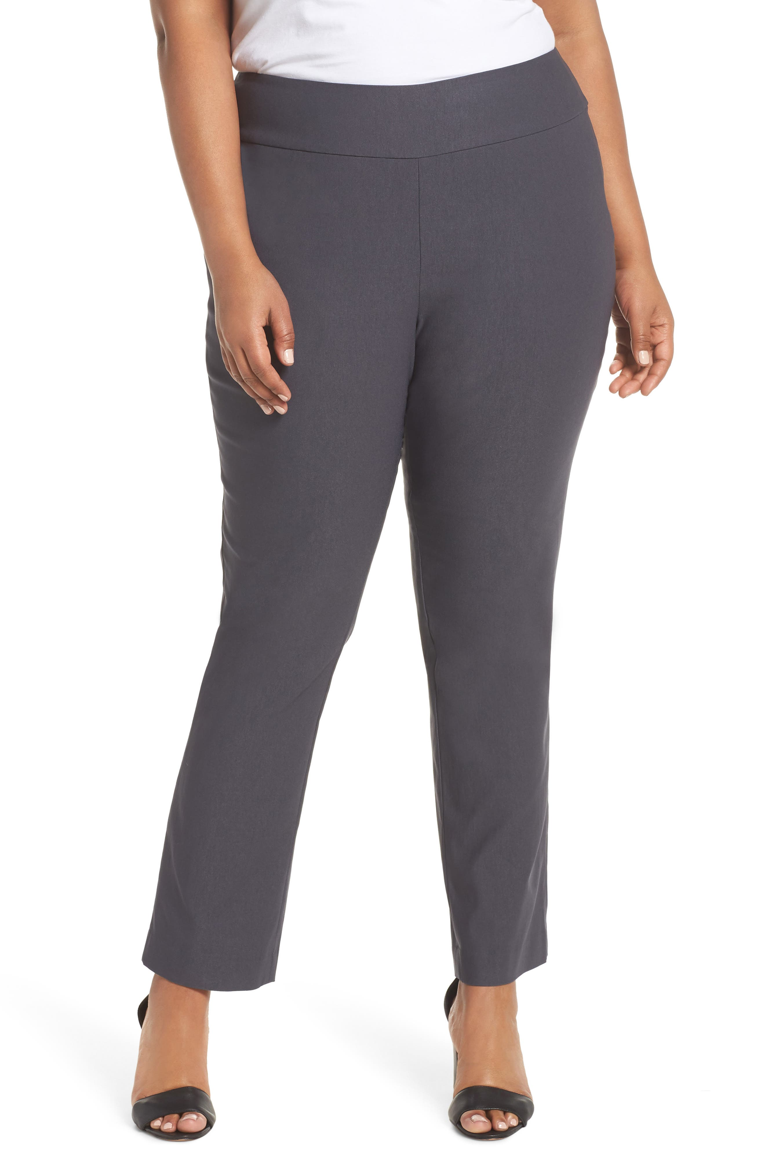 Wonder Stretch Straight Leg Pants,                         Main,                         color, Ink