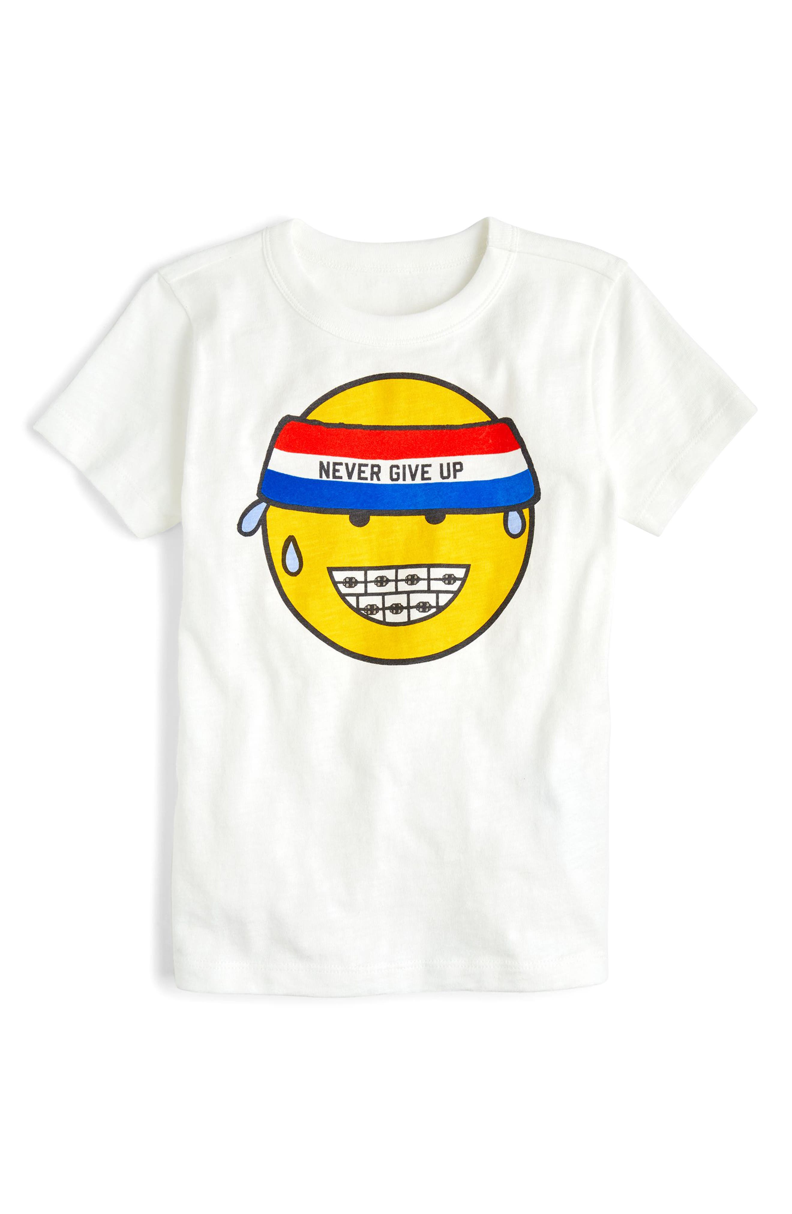 crewcuts by J.Crew Never Give Up Graphic T-Shirt (Toddler Boys, Little Boys & Big Boys)