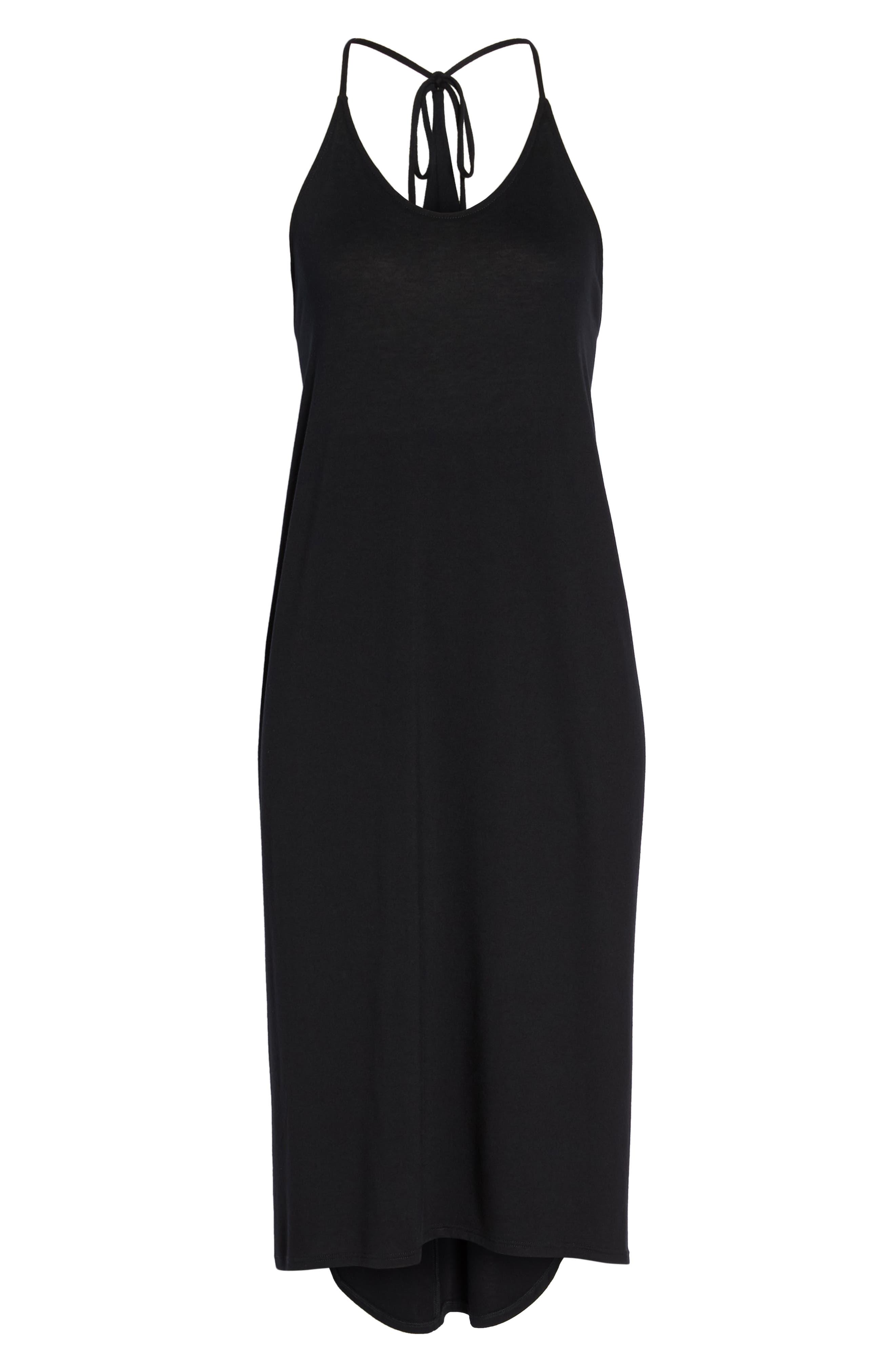 Yoga Dress,                             Alternate thumbnail 6, color,                             Black