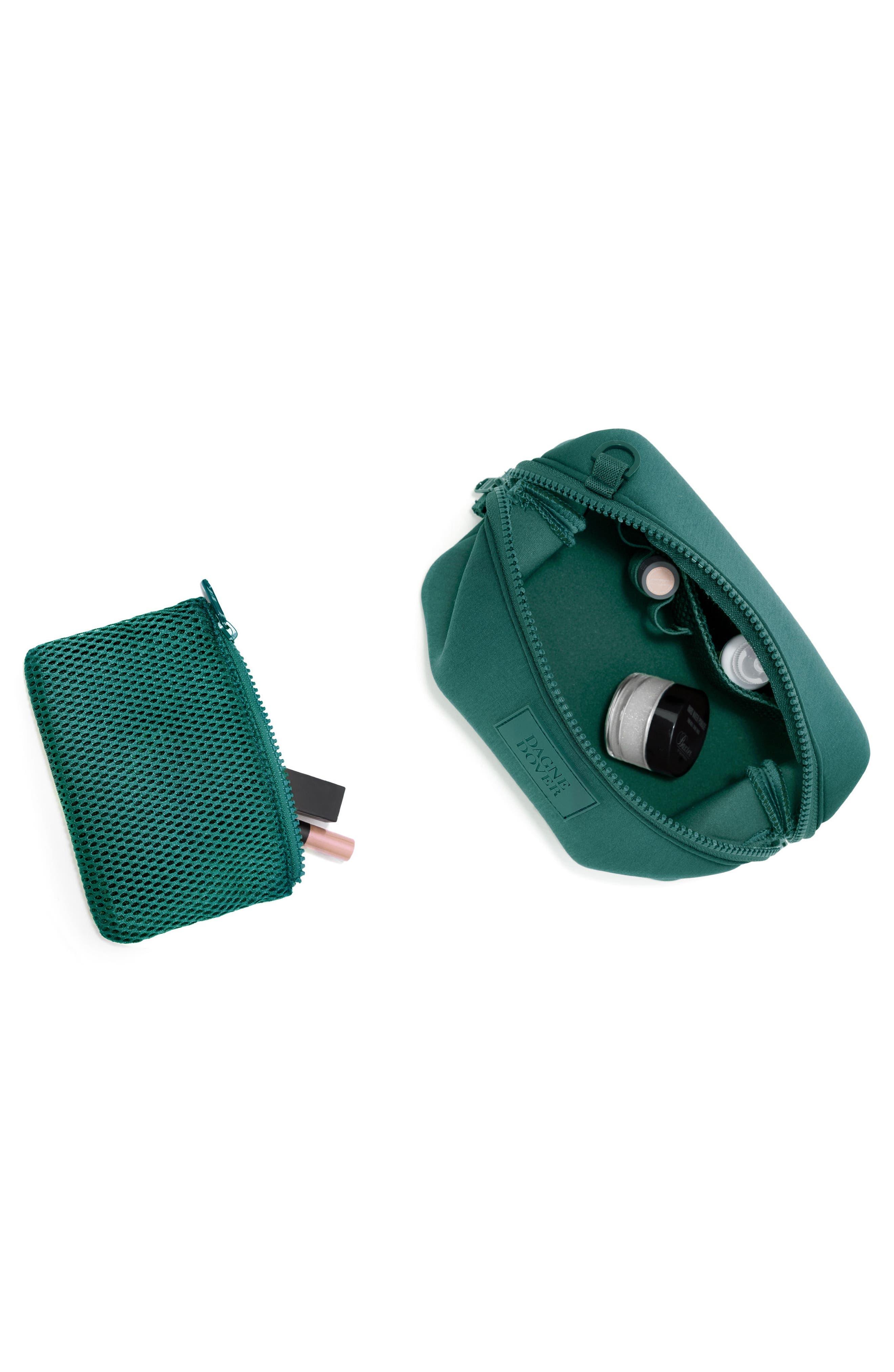 Small Hunter Neoprene Toiletry Bag,                             Alternate thumbnail 2, color,                             Palm