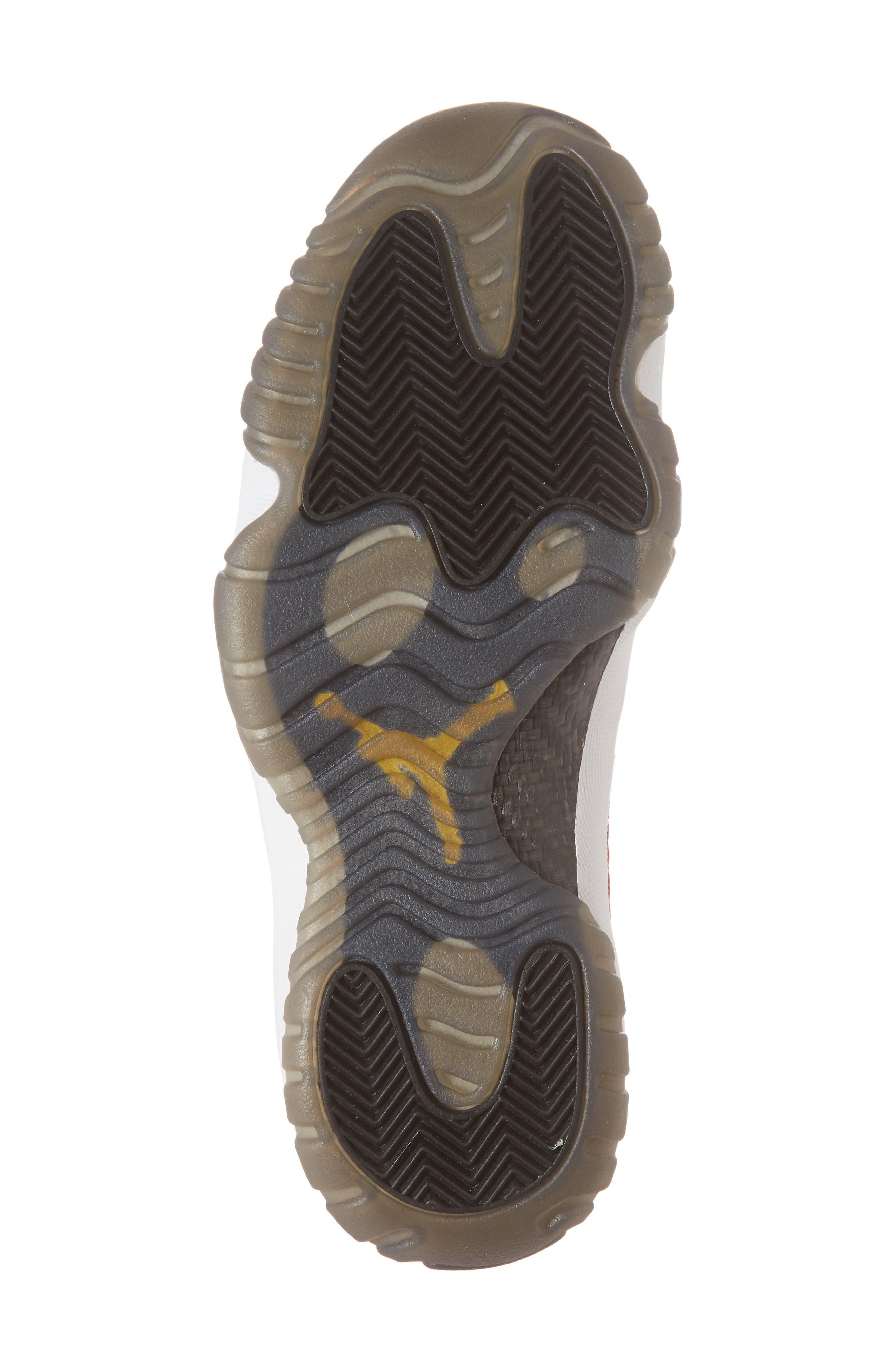 Air Jordan Future Woven Sneaker,                             Alternate thumbnail 6, color,                             Gym Red/ White/ Black