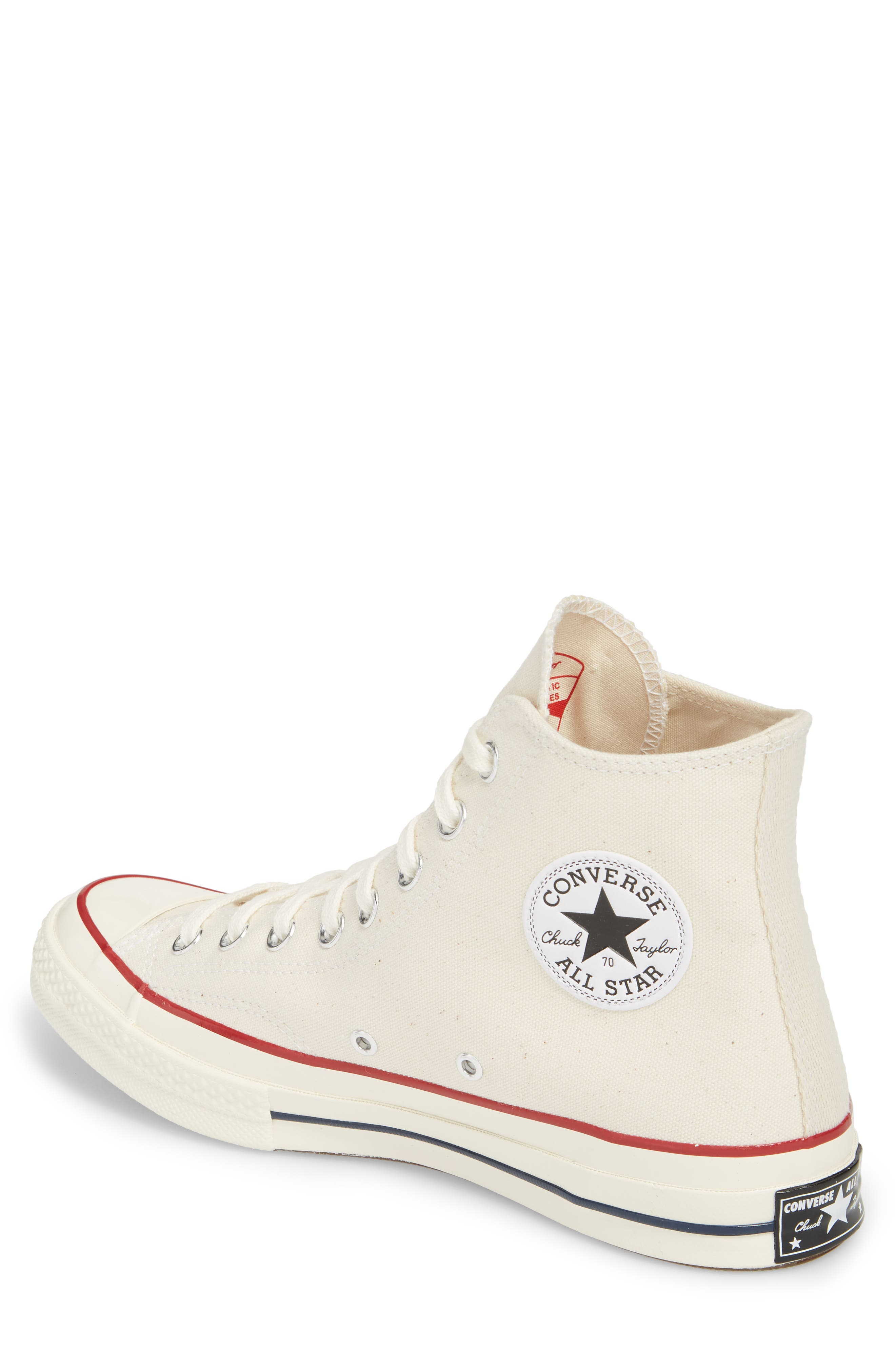 Chuck Taylor<sup>®</sup> All Star<sup>®</sup> 70 High Top Sneaker,                             Alternate thumbnail 2, color,                             Parchment