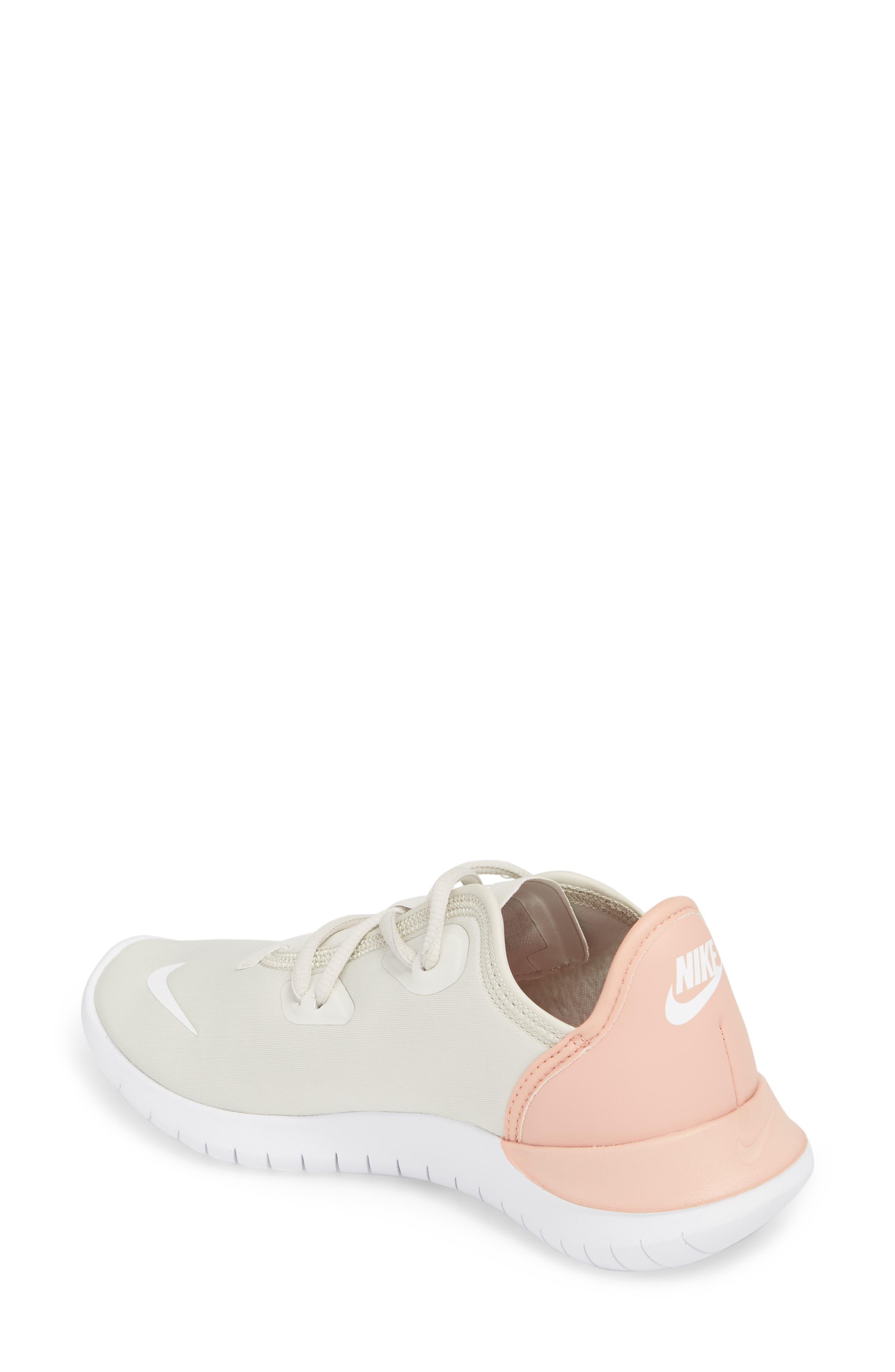 Hakata Sneaker,                             Alternate thumbnail 2, color,                             Light Bone/ White/ Coral