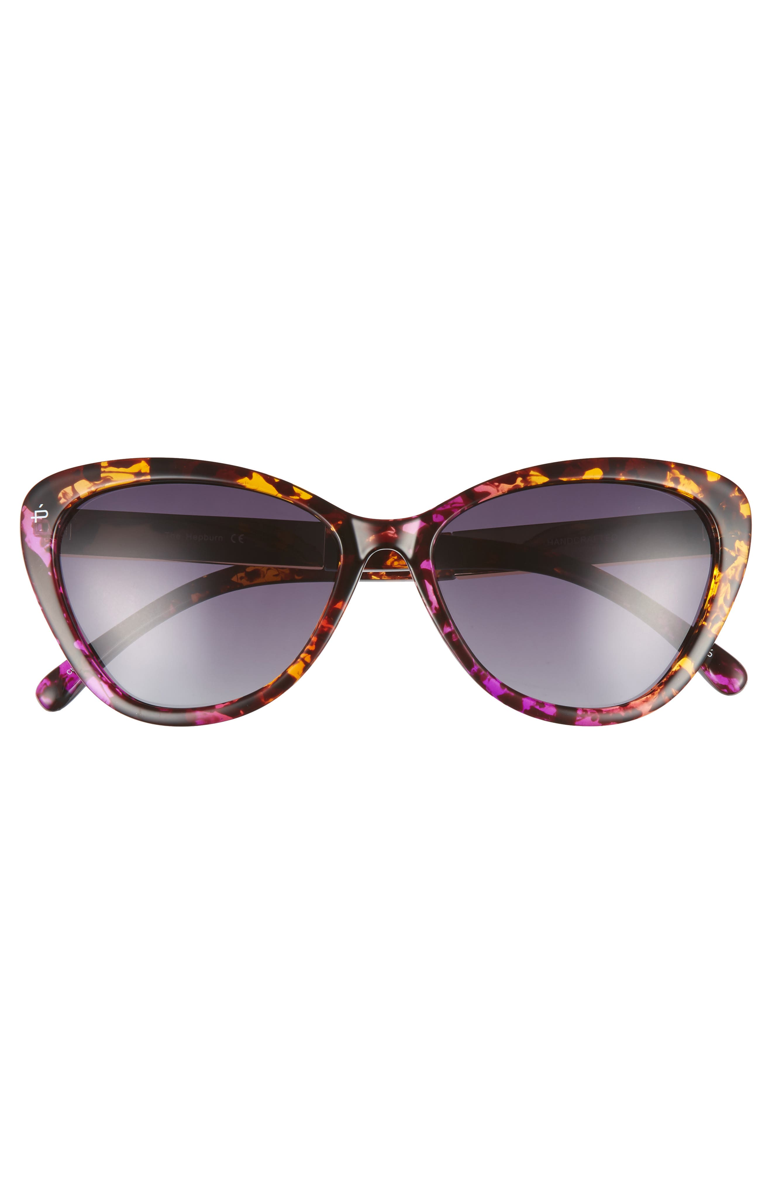 Privé Revaux The Hepburn 56mm Cat Eye Sunglasses,                             Alternate thumbnail 3, color,                             Purple