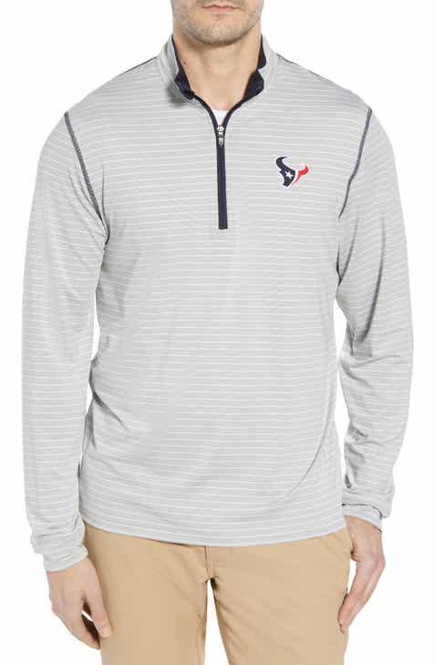 Cutter   Buck Meridian - Houston Texans Regular Fit Half Zip Pullover f1e8f4dac